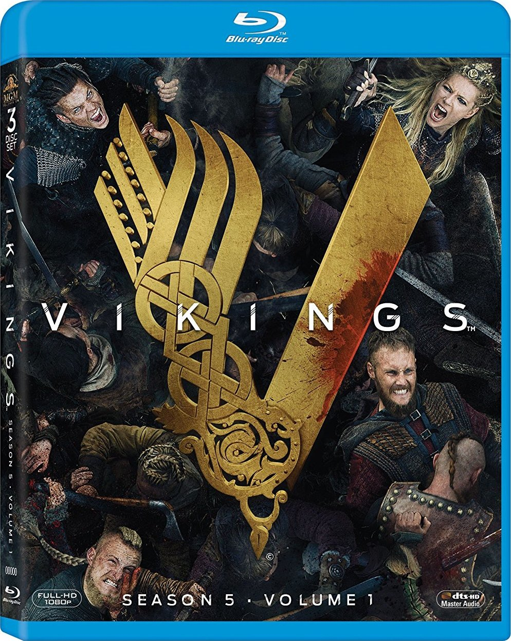 Vikings: Season 5, Volume 1 (Blu-ray)(Region Free)