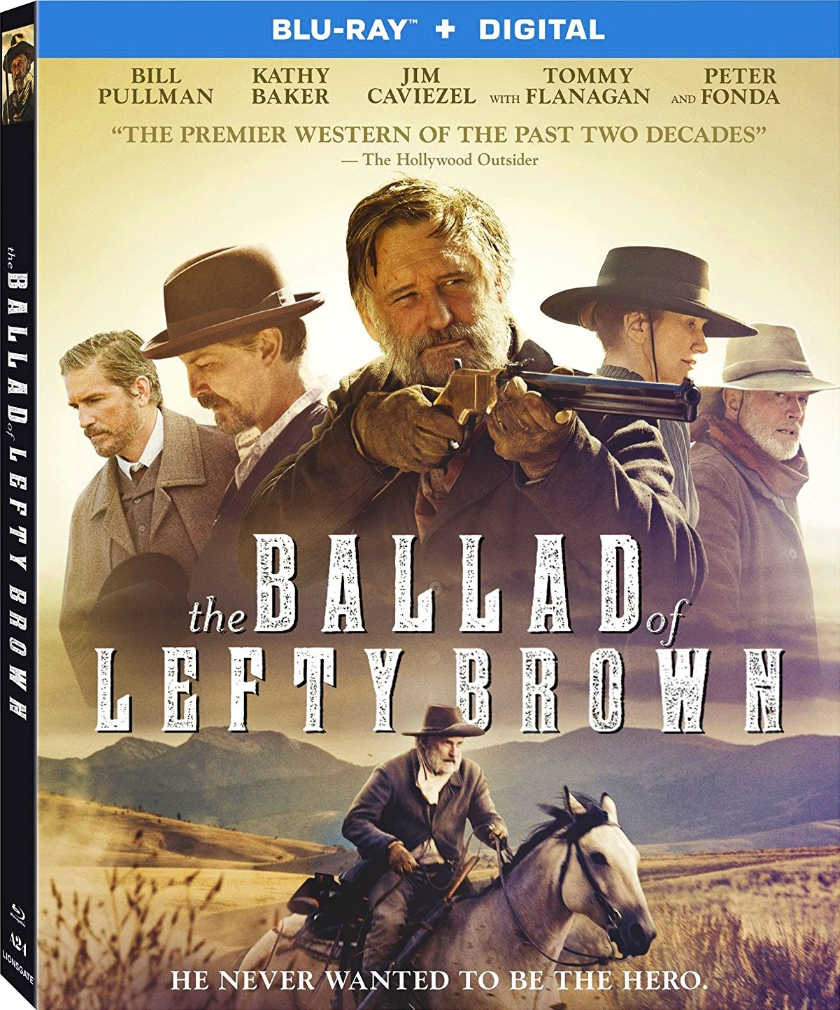 The Ballad of Lefty Brown (2017) Blu-ray