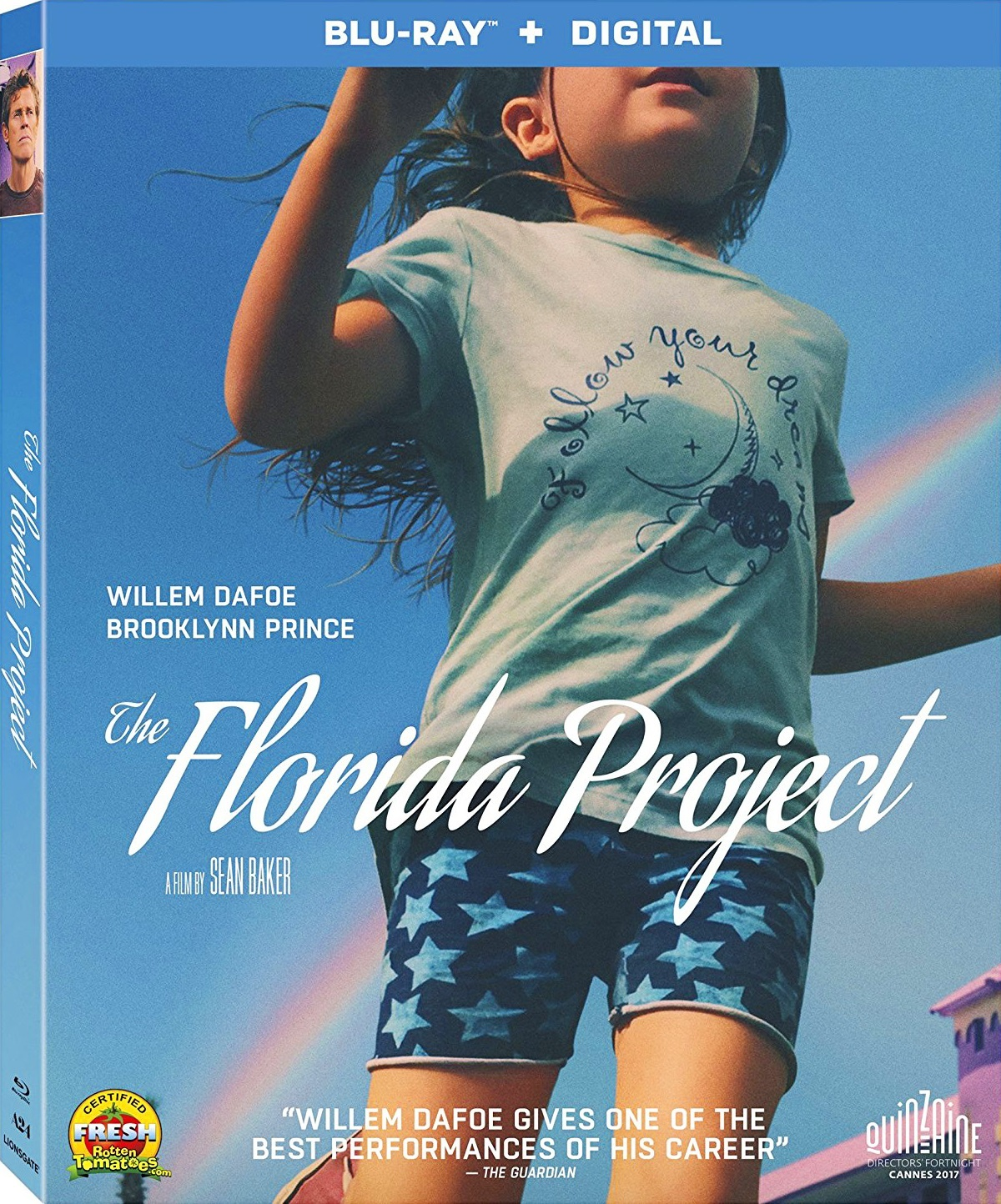The Florida Project (2017) Blu-ray