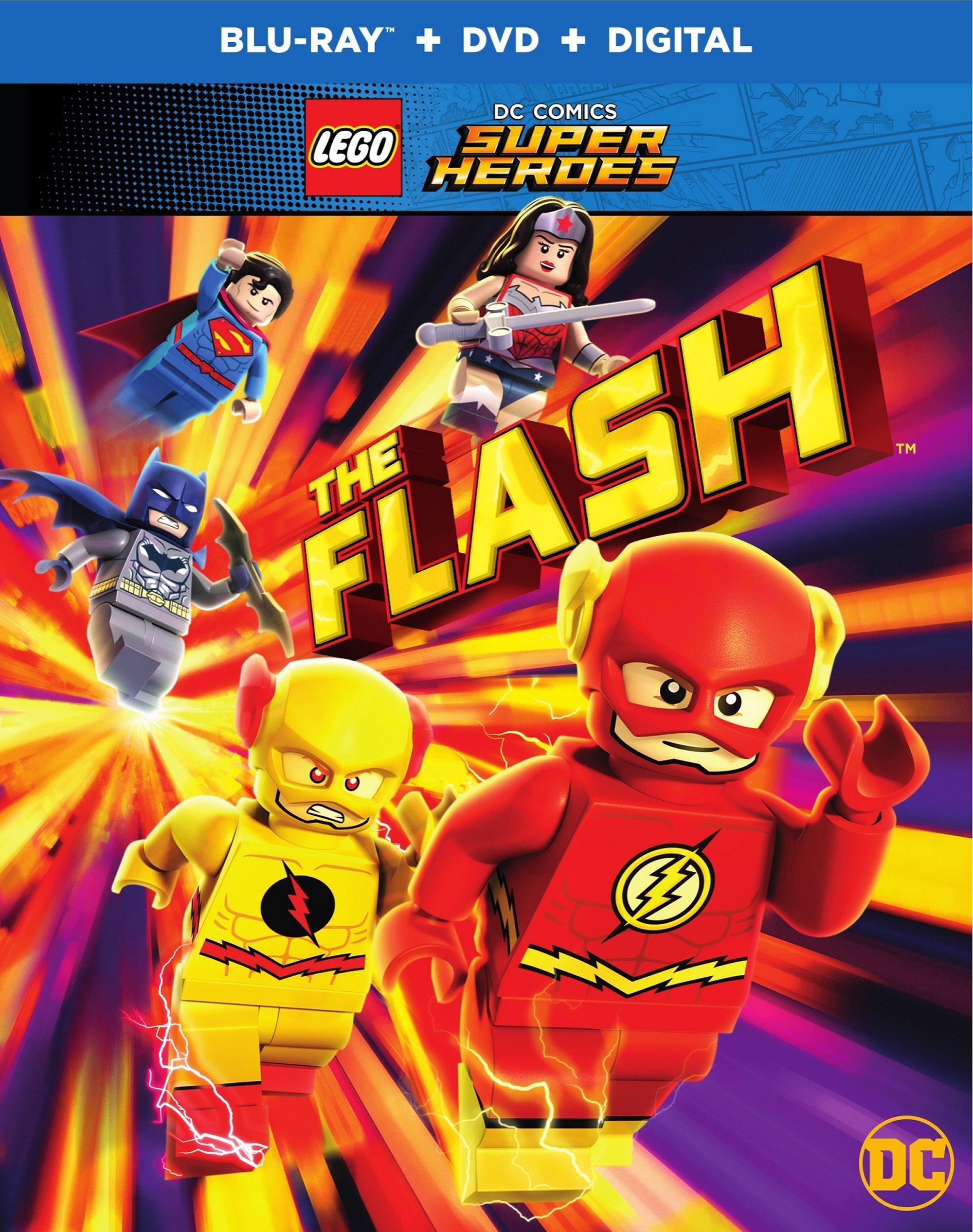 LEGO DC Comics Super Heroes: The Flash (2018) Blu-ray