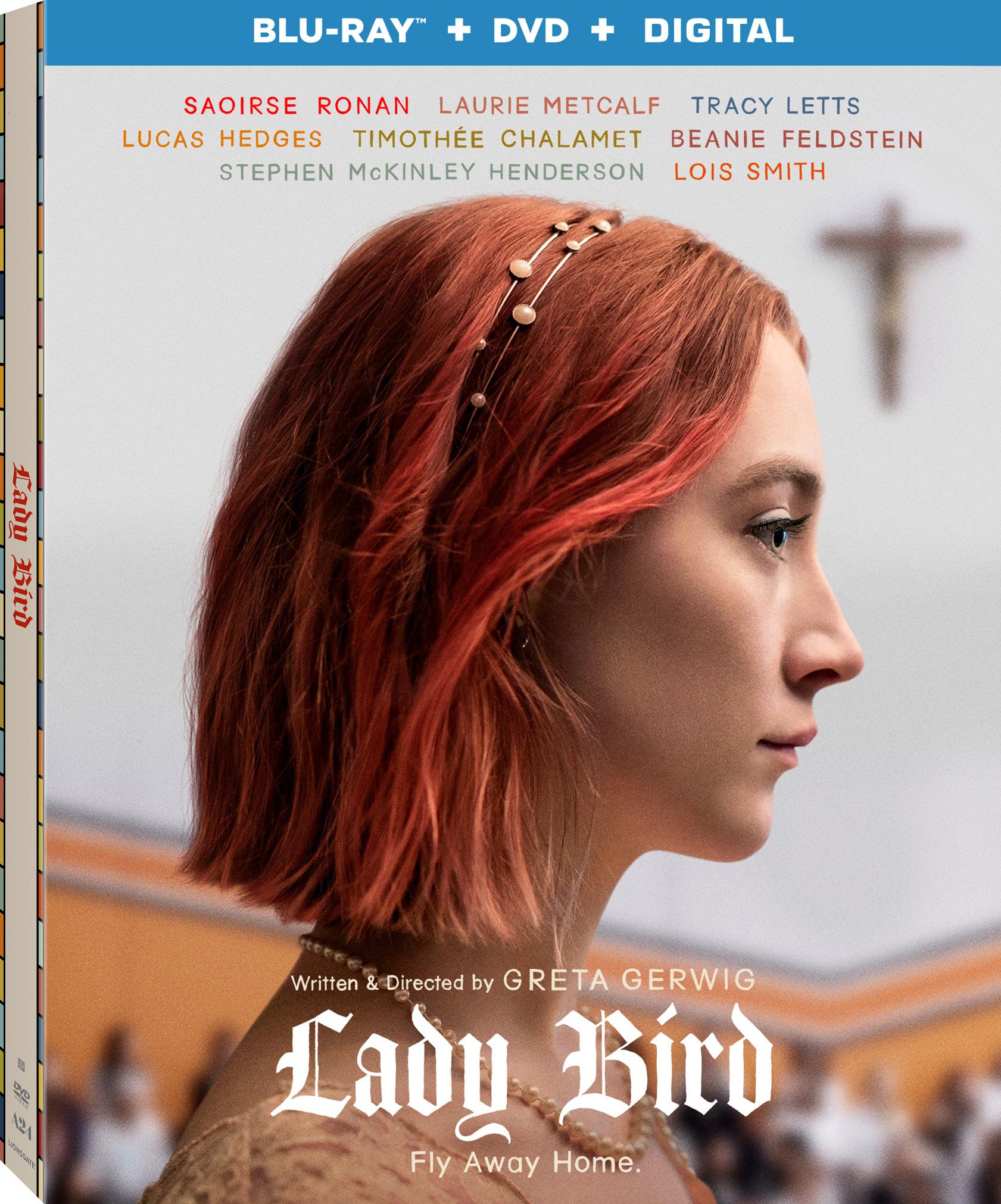 Lady Bird (2017) Blu-ray
