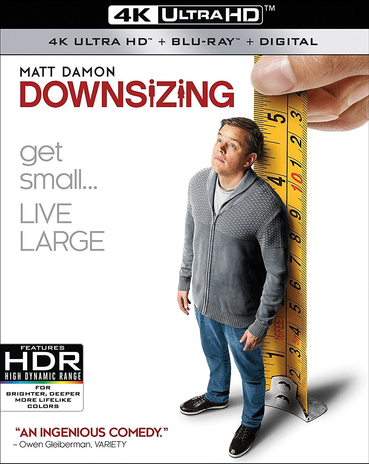Downsizing 4K (2017) Ultra HD Blu-ray