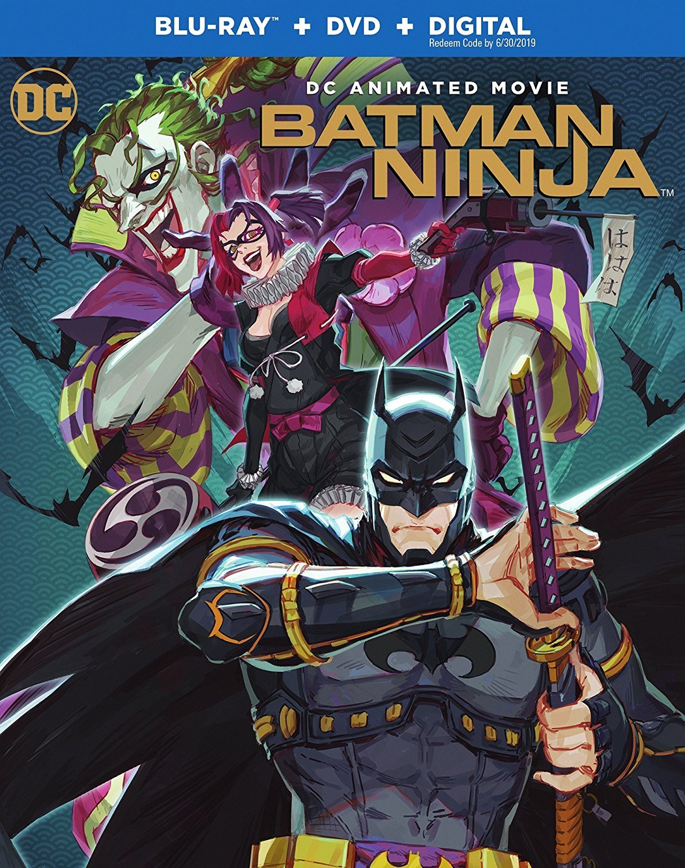 Batman Ninja (2018) Blu-ray