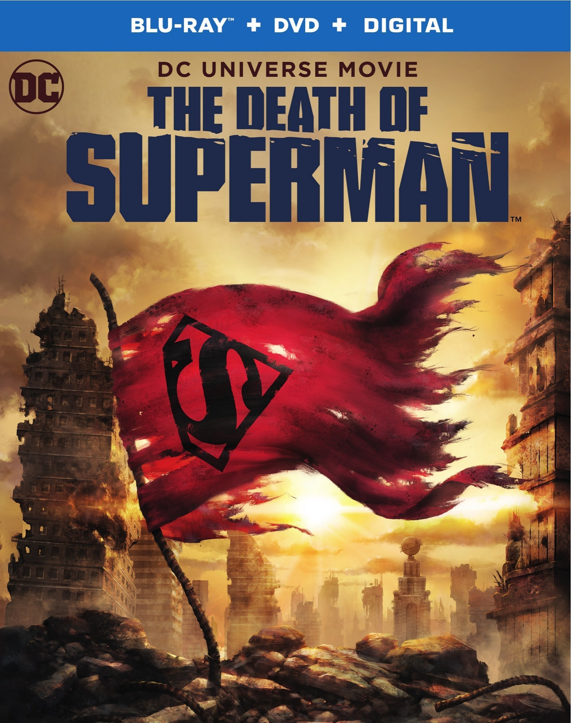 The Death of Superman (Blu-ray)(Region Free)