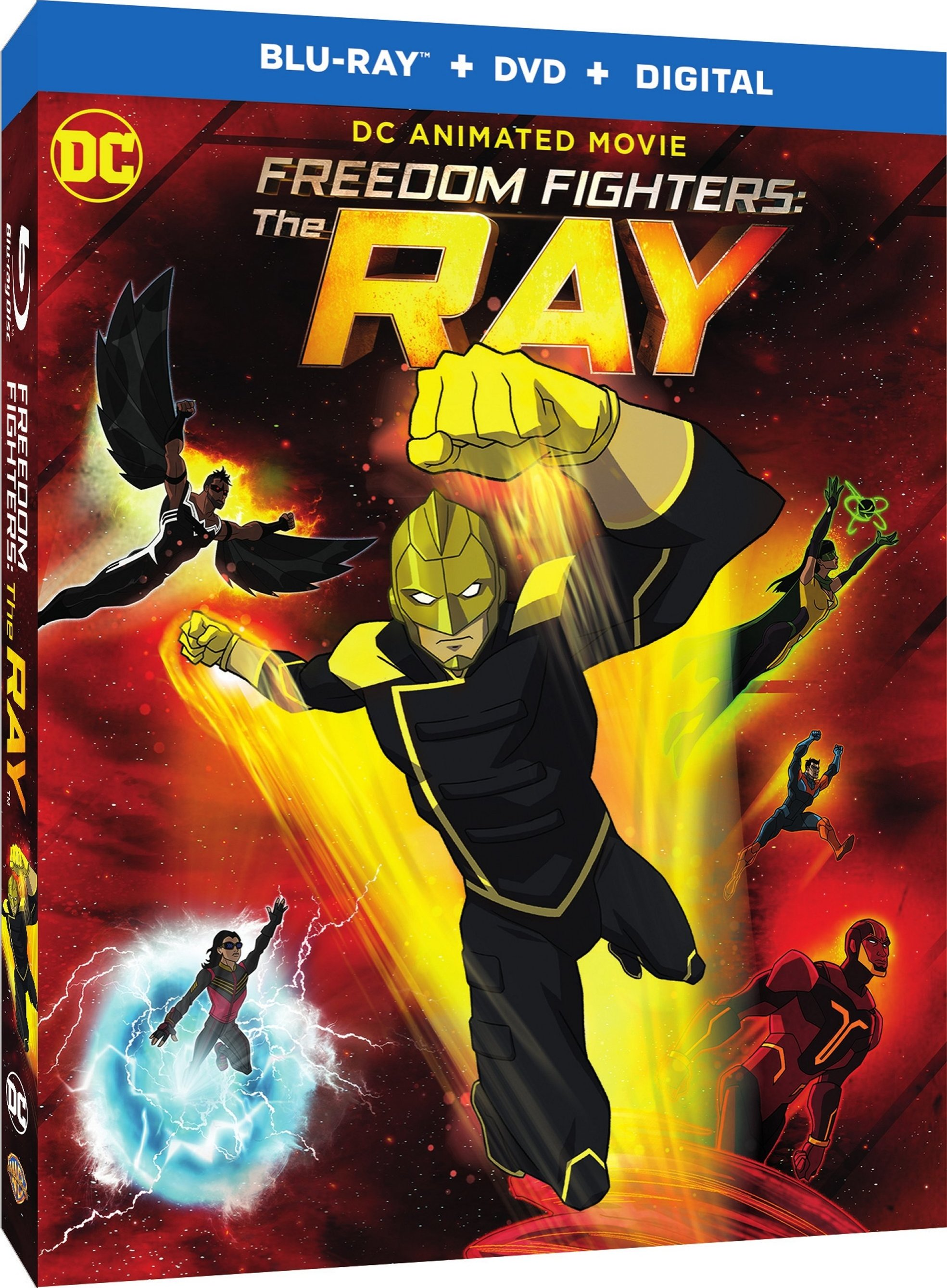 Freedom Fighters: The Ray (TV) Blu-ray