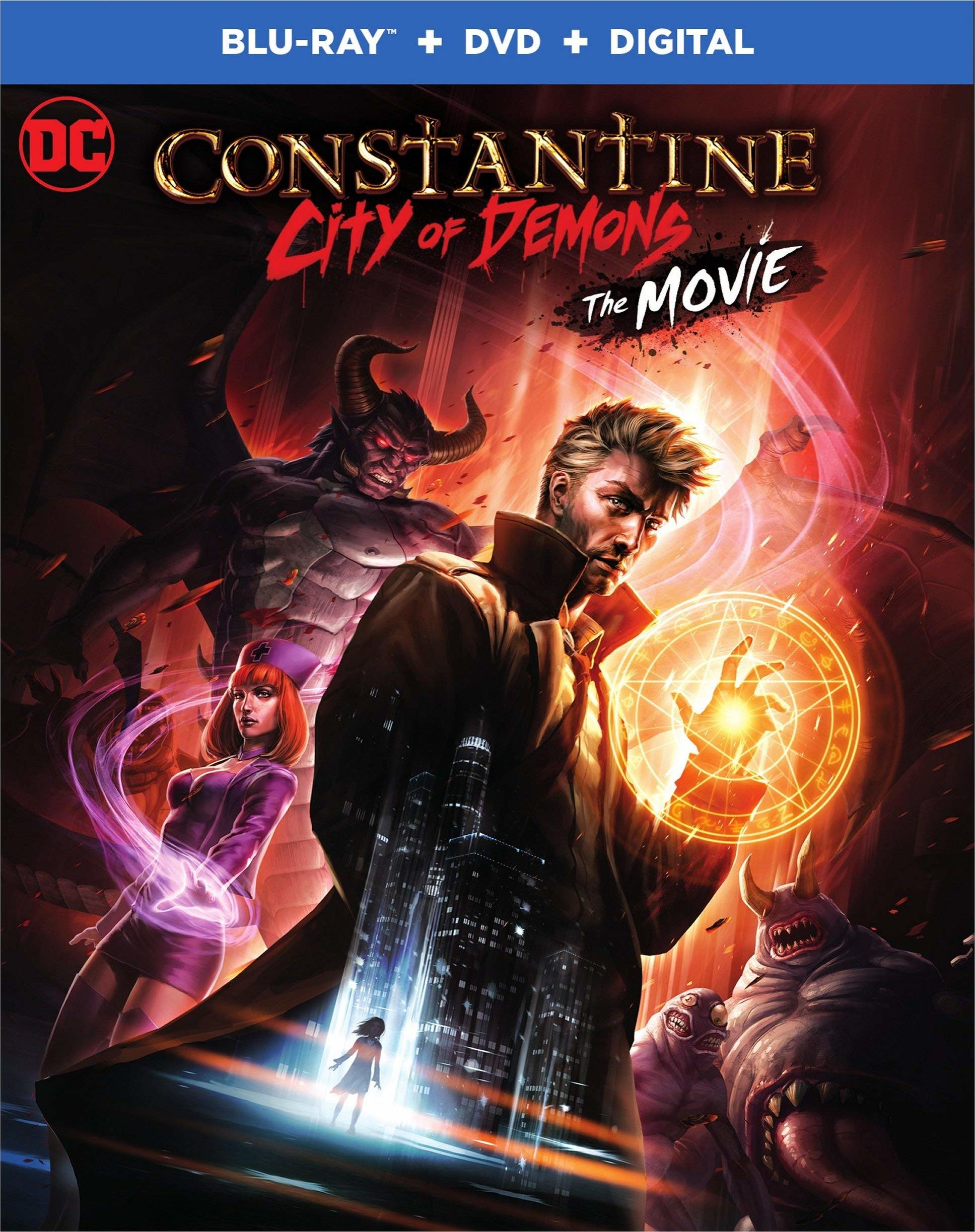 Constantine: City of Demons (The Movie)(Blu-ray)(Region Free)