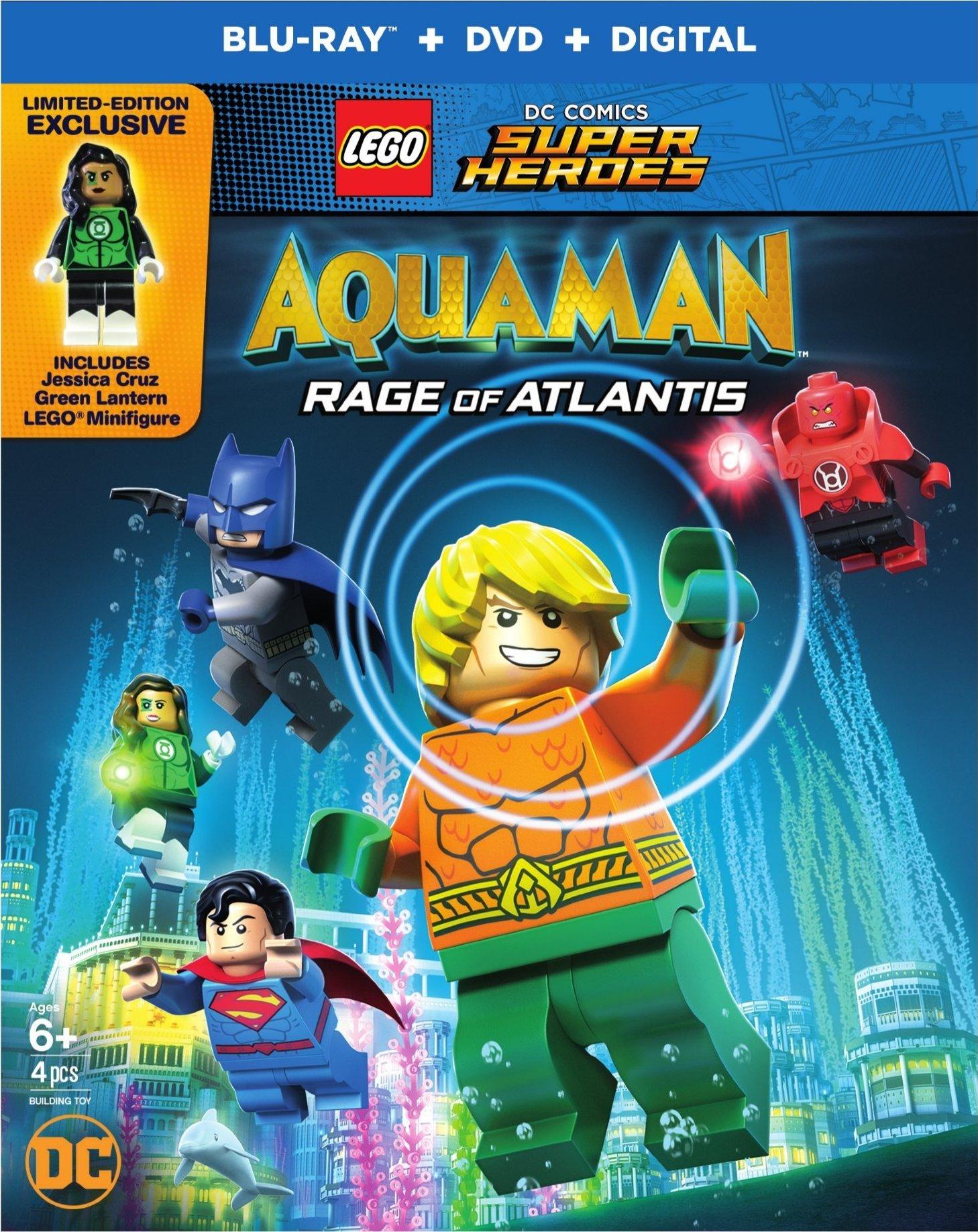 LEGO DC Super Heroes: Aquaman: Rage of Atlantis (2018) Blu-ray