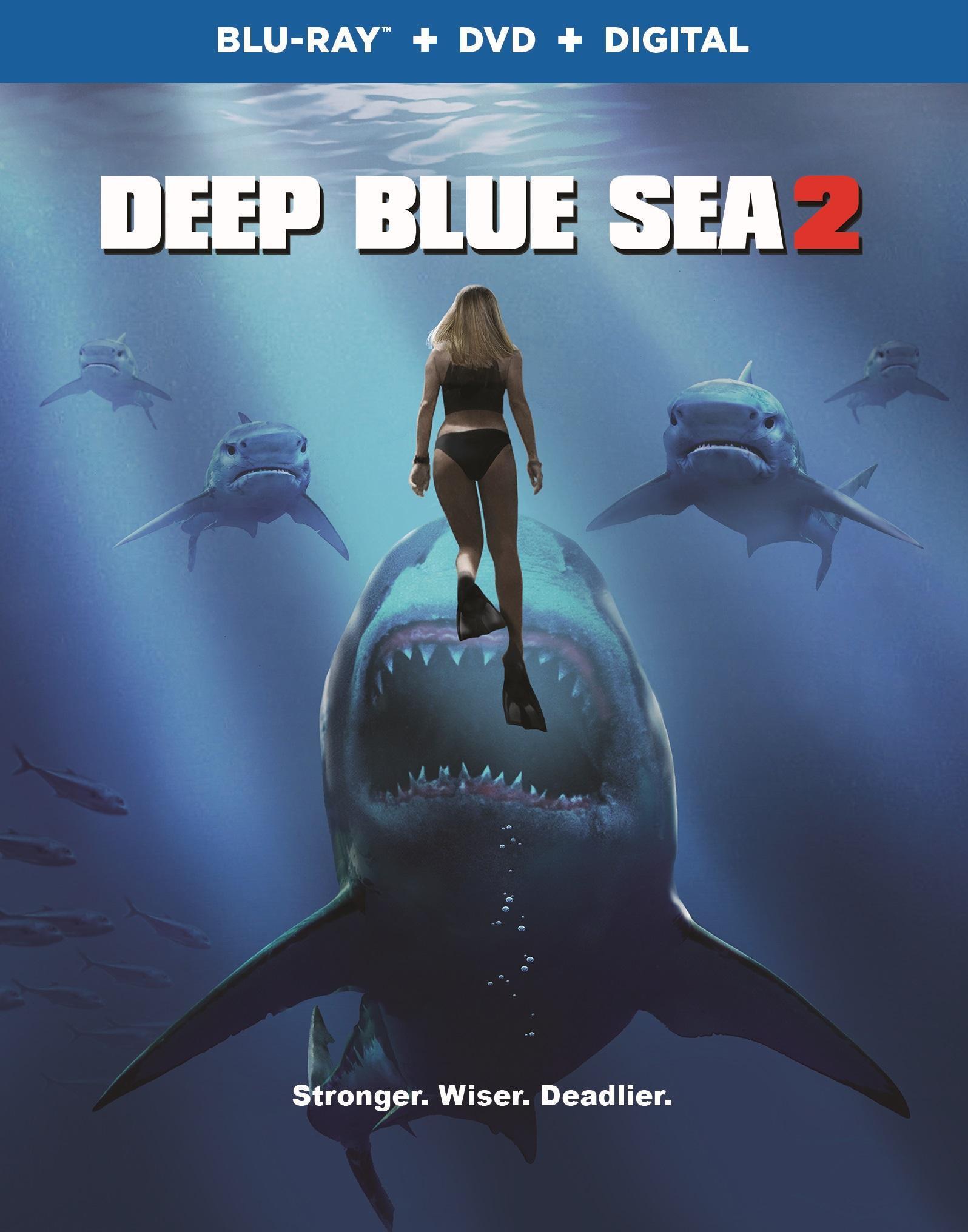 Deep Blue Sea 2 (2018) Blu-ray