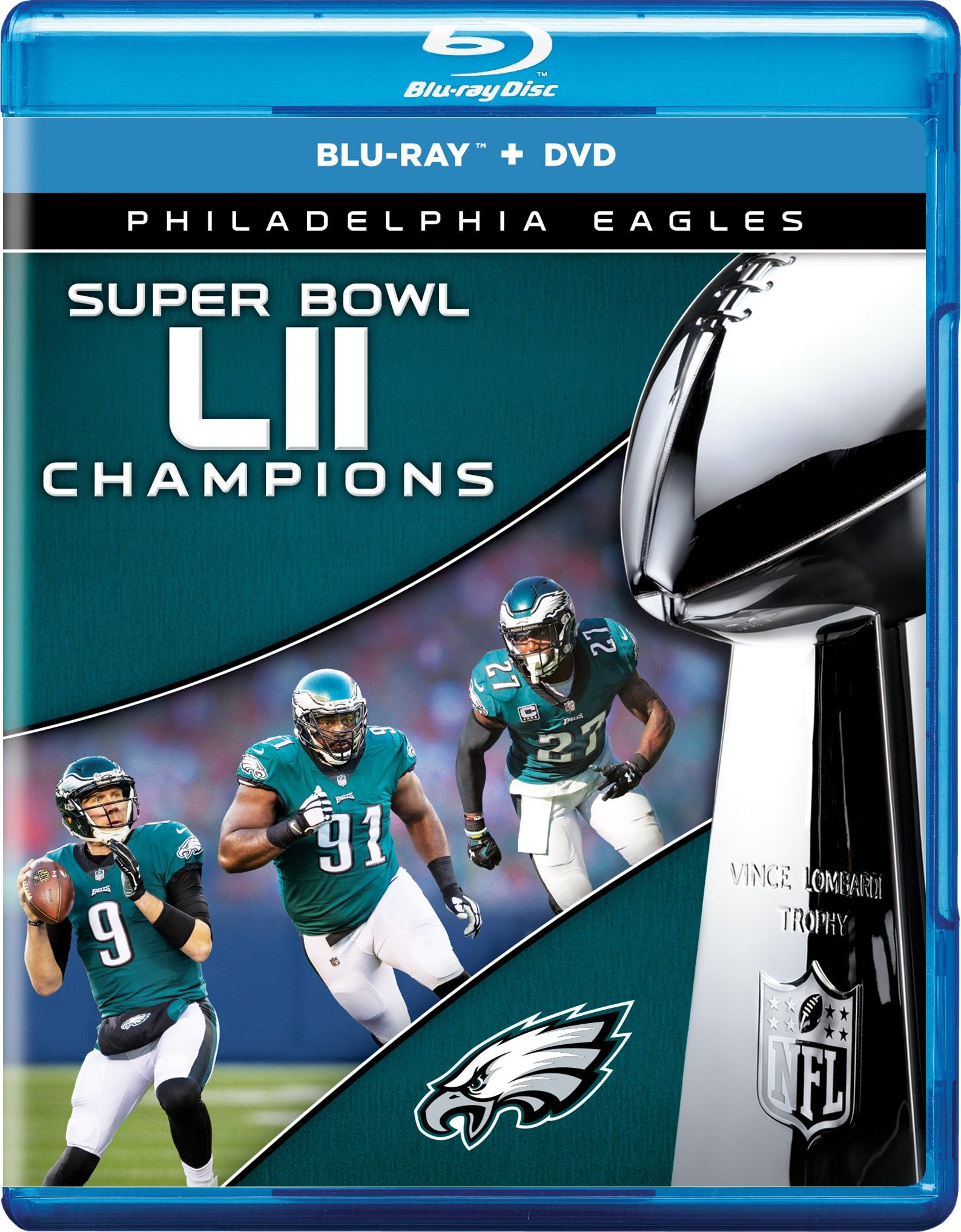 NFL Super Bowl 52 Champions (2018) Blu-ray
