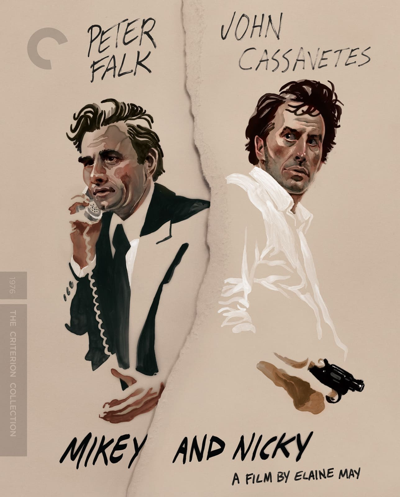 Mikey and Nicky (The Criterion Collection)(Blu-ray)(Region A)(Pre-order / Jan 22)