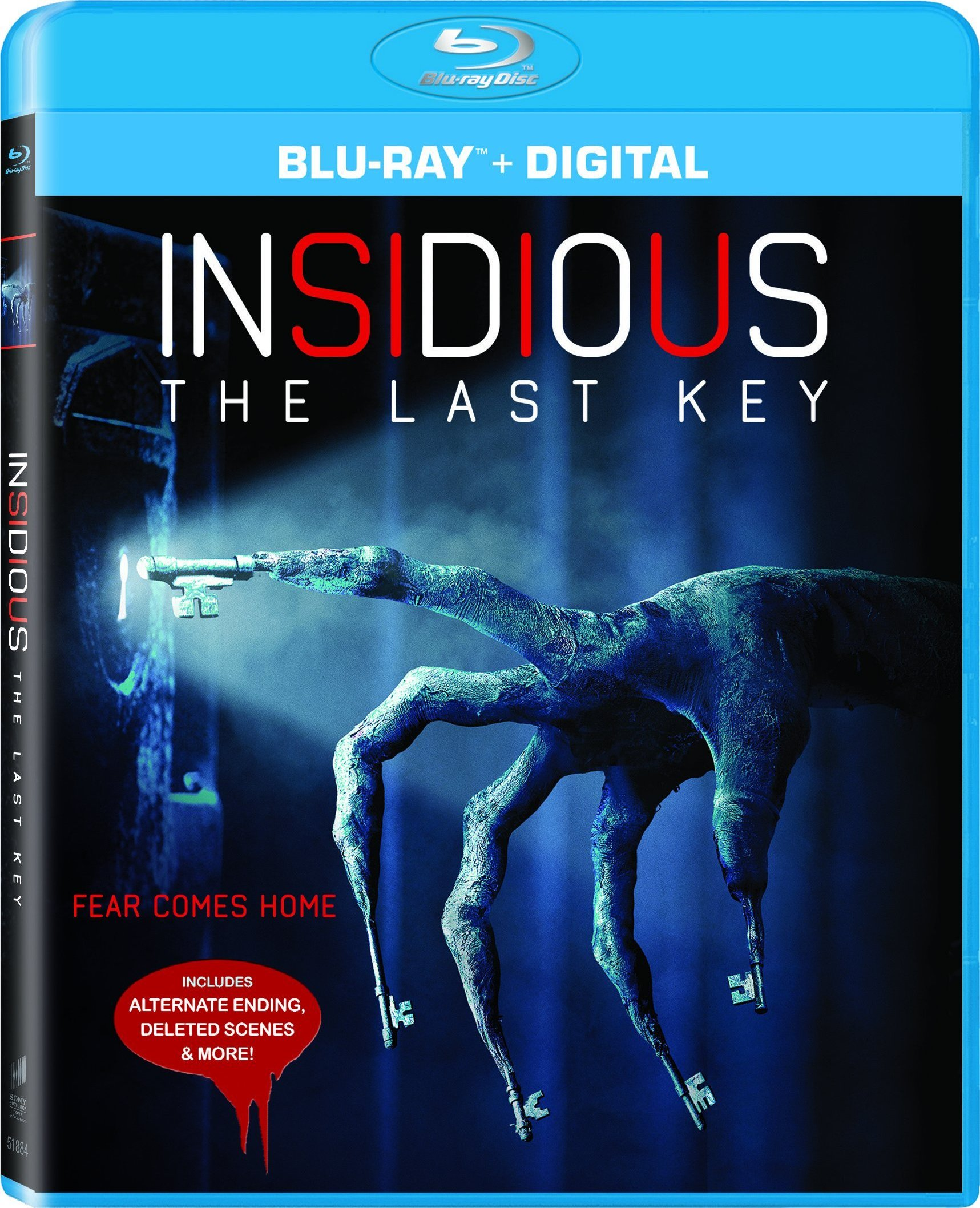 Insidious: The Last Key (Chapter 4)(2018) Blu-ray