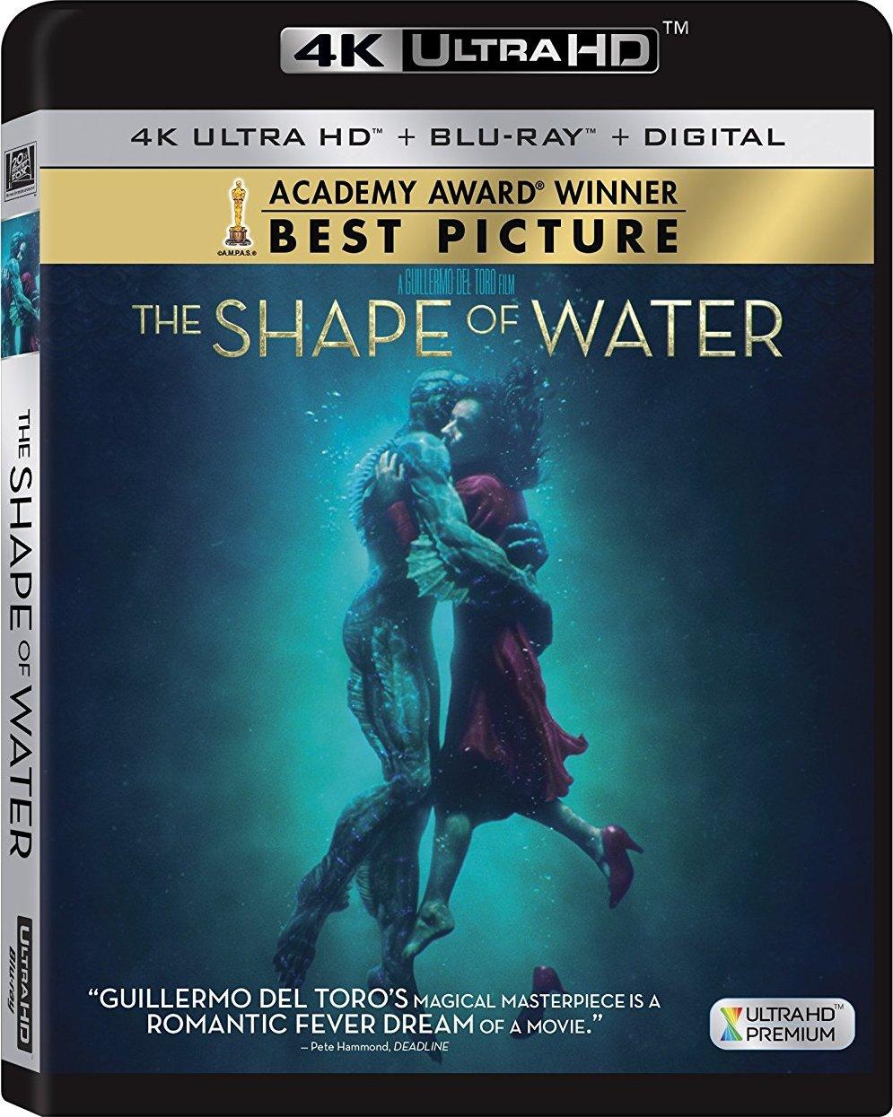 The Shape of Water 4K (2017) 4K Ultra HD Blu-ray