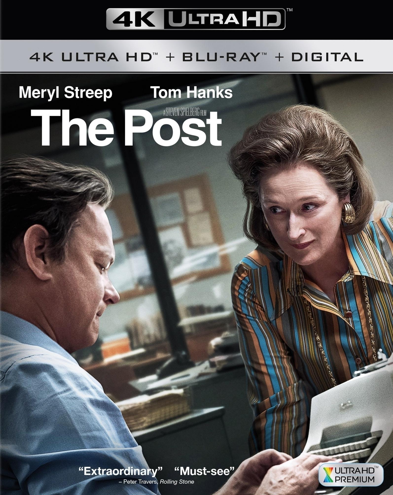 The Post 4K (2017) Ultra HD Blu-ray