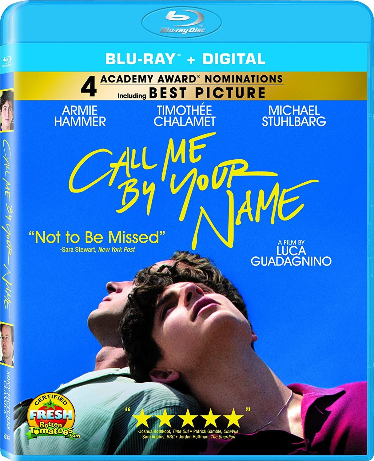 Call Me by Your Name (2017) Blu-ray