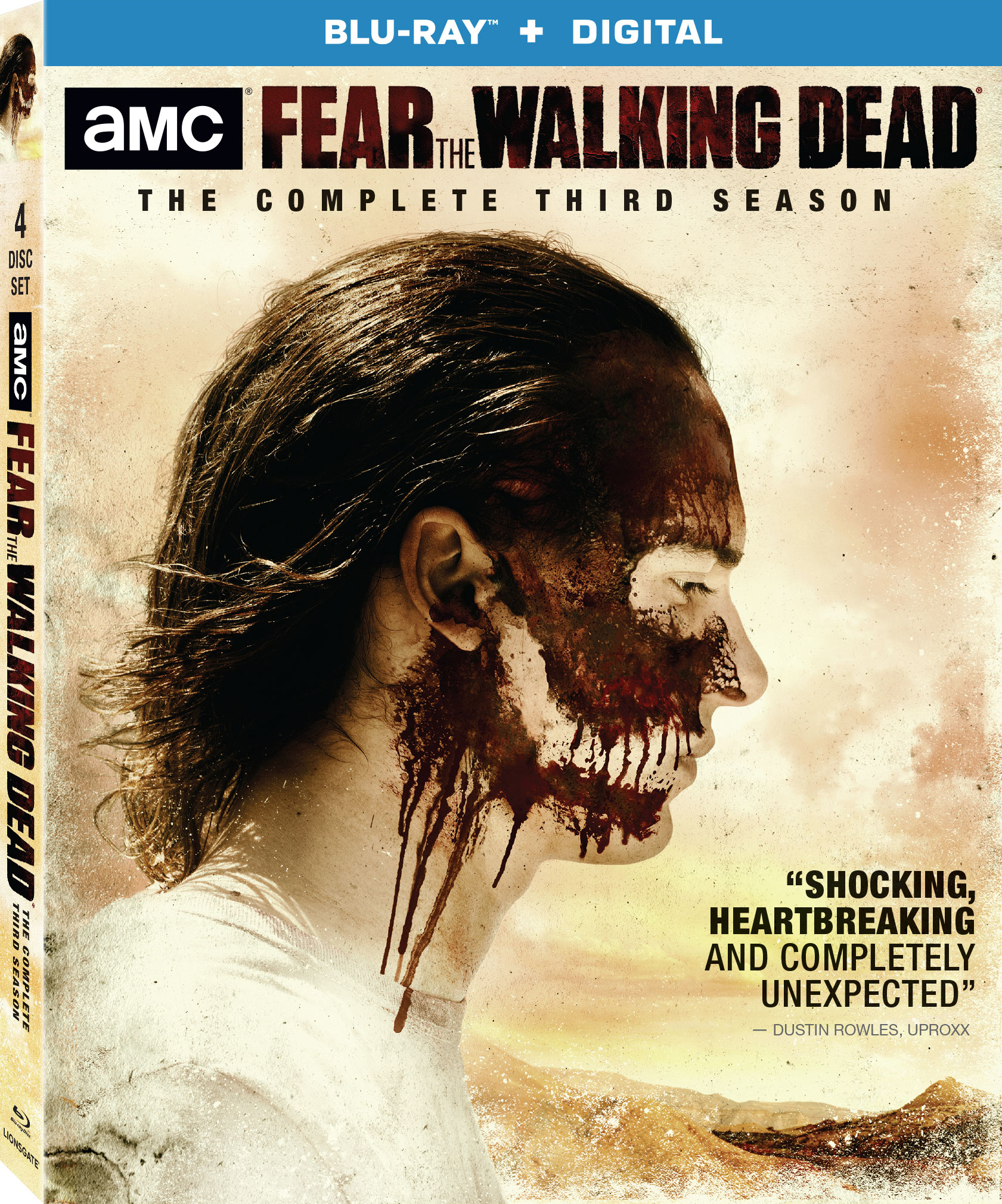 Fear the Walking Dead: The Complete Third Season (TV) (2017) Blu-ray