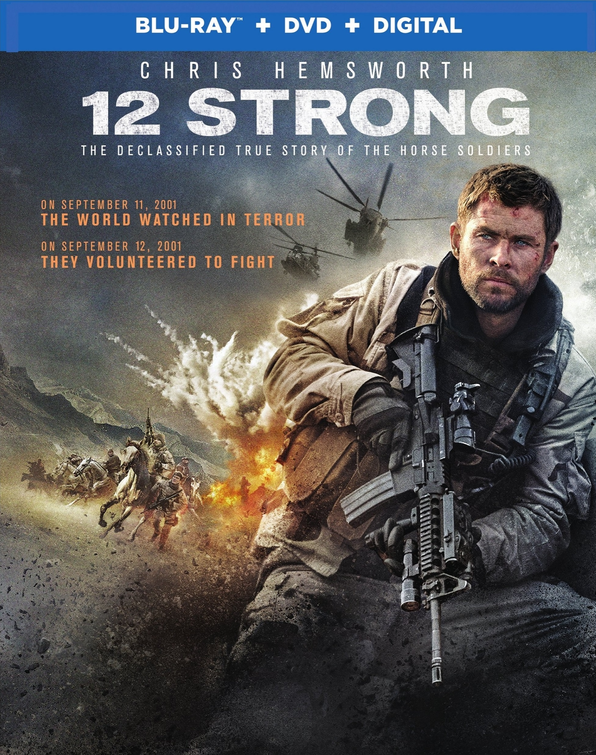 12 Strong (2018) Blu-ray
