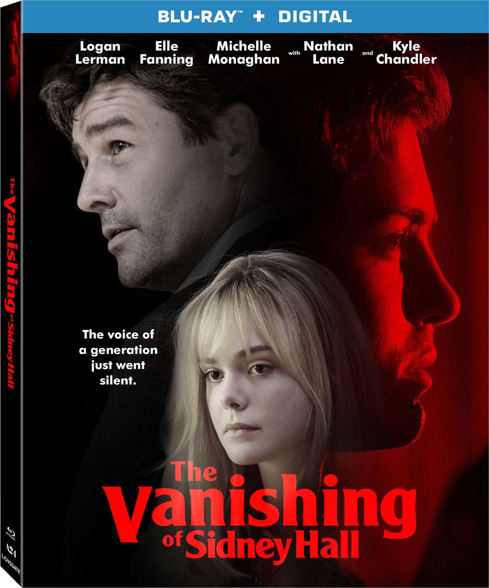 The Vanishing of Sidney Hall (2017) Blu-ray