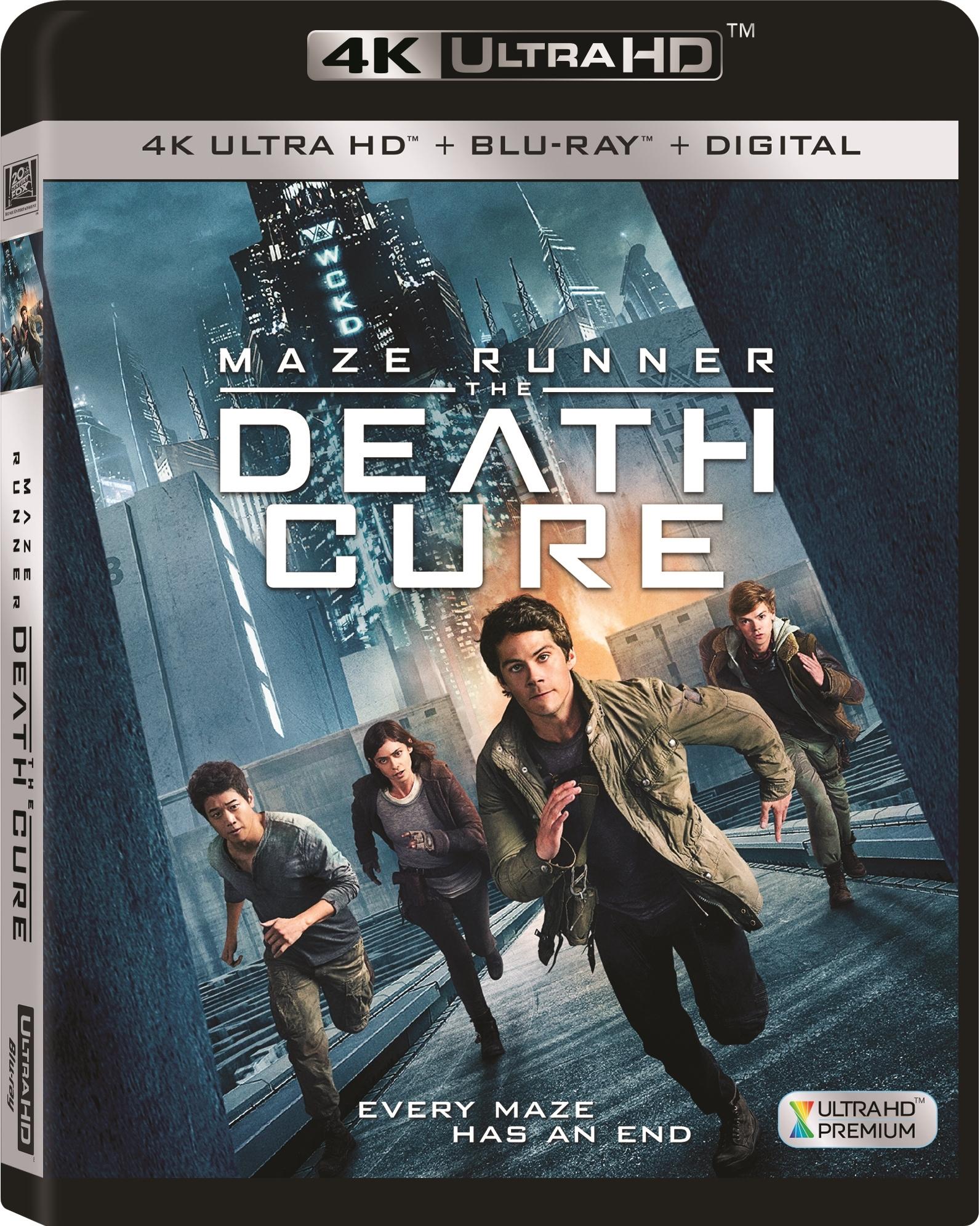 Maze Runner: The Death Cure 4K (2018) Ultra HD Blu-ray