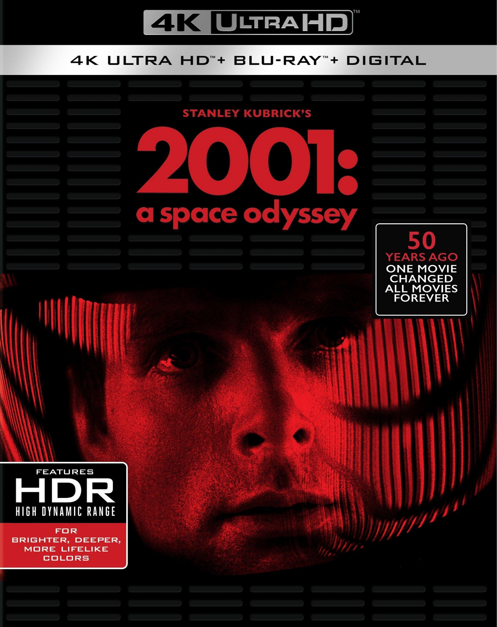 2001: A Space Odyssey 4K (1968) Ultra HD Blu-ray