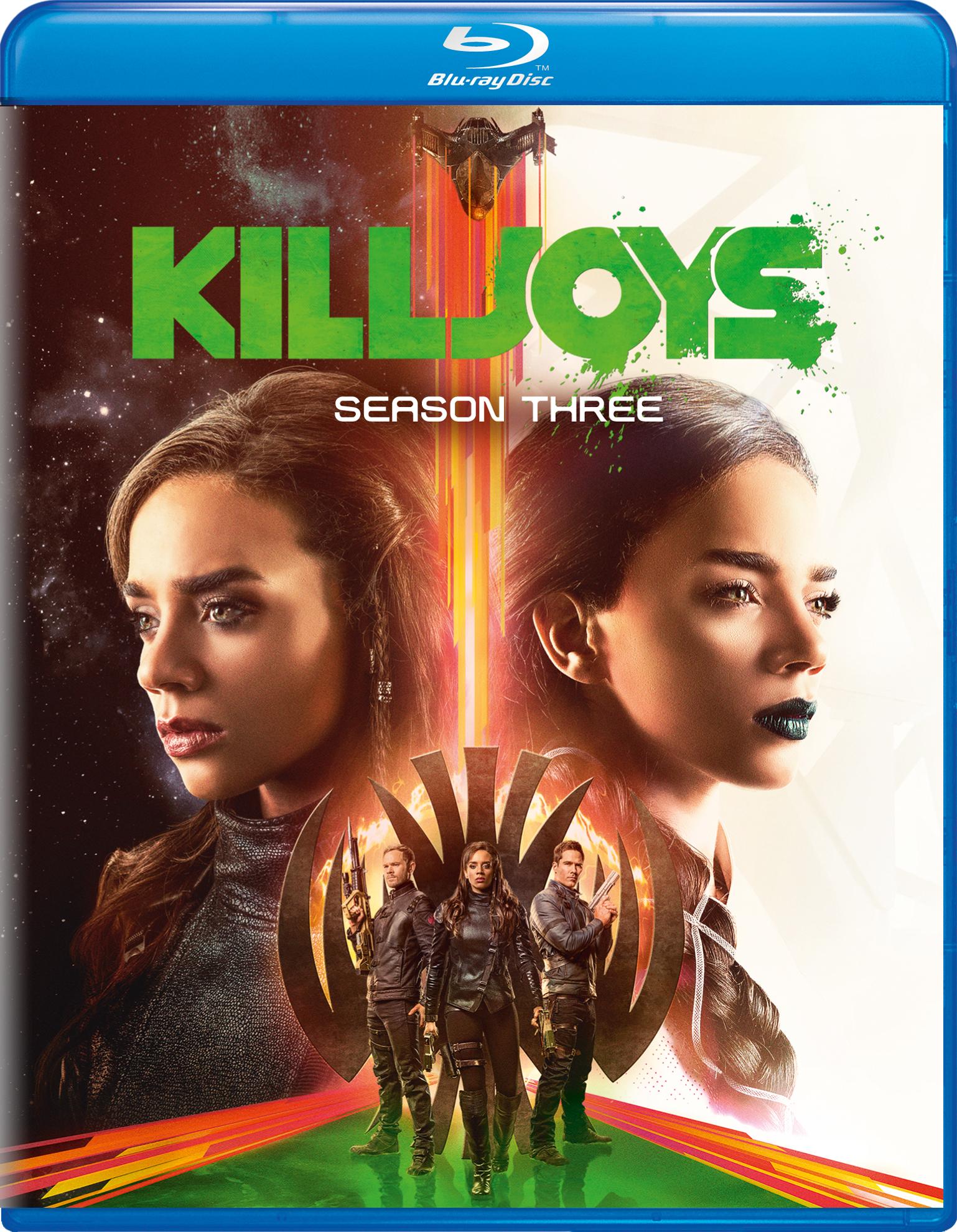 Killjoys: Season Three (TV) (2017) Blu-ray