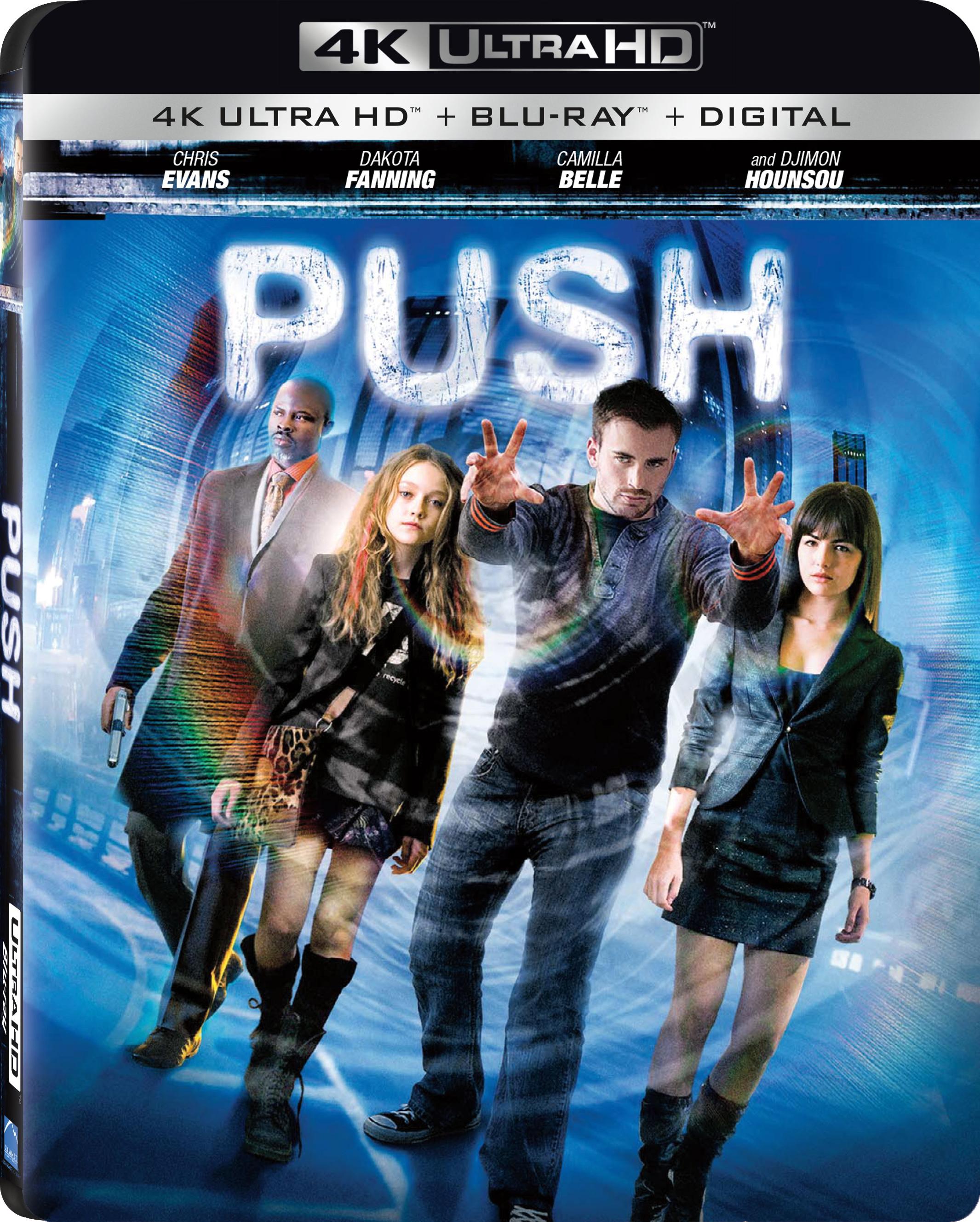 Push (2009) 4K Ultra HD Blu-ray