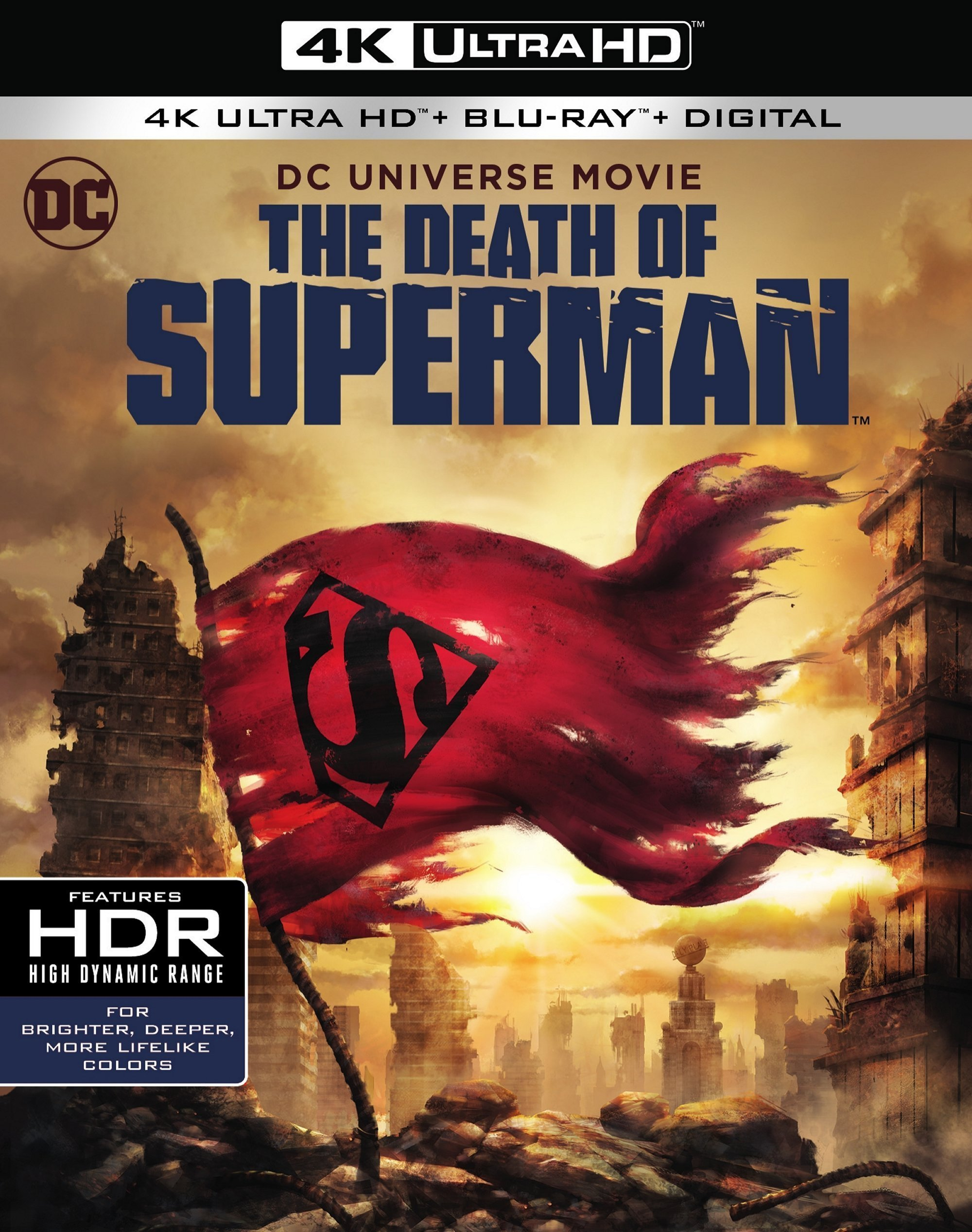 The Death of Superman 4K (2018) Ultra HD Blu-ray