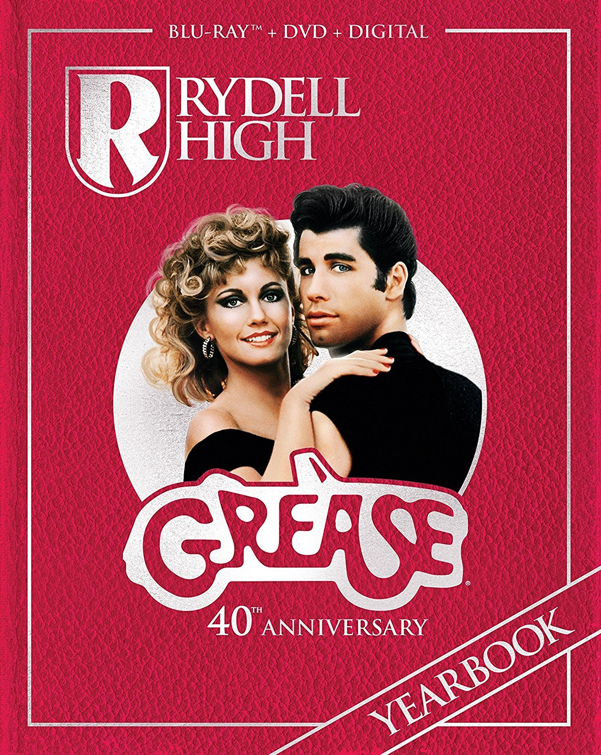 Grease (40th Anniversary Edition)(DigiBook)(1978) Blu-ray