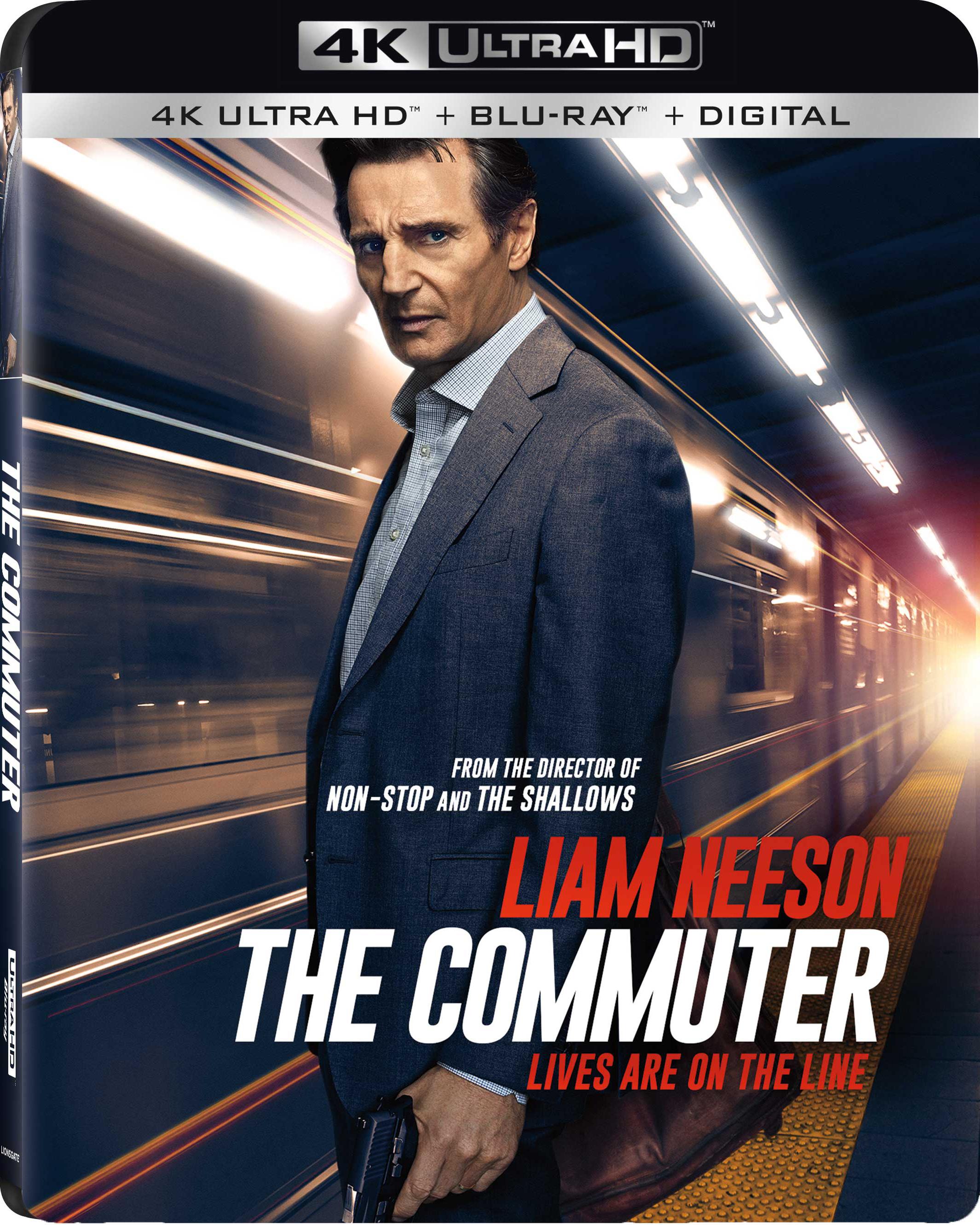 The Commuter 4K (2018) 4K Ultra HD Blu-ray