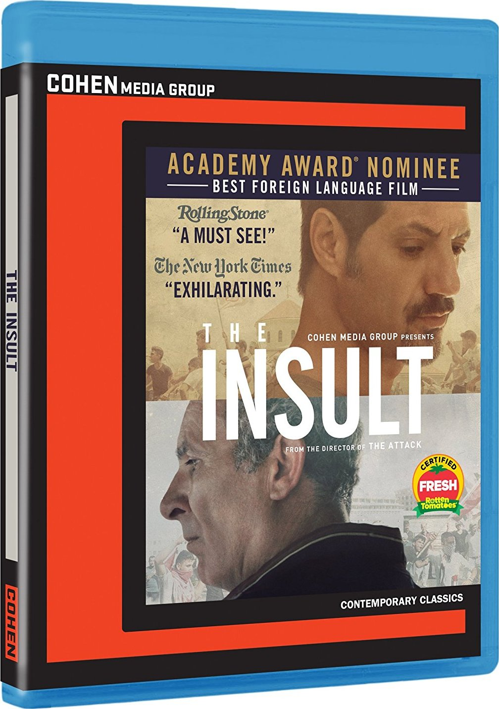 The Insult (2017) Blu-ray
