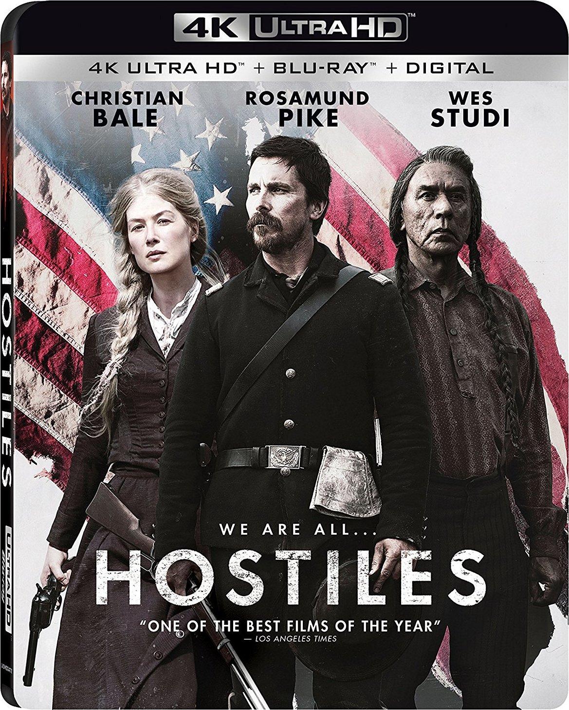 Hostiles 4K (2017) Ultra HD Blu-ray