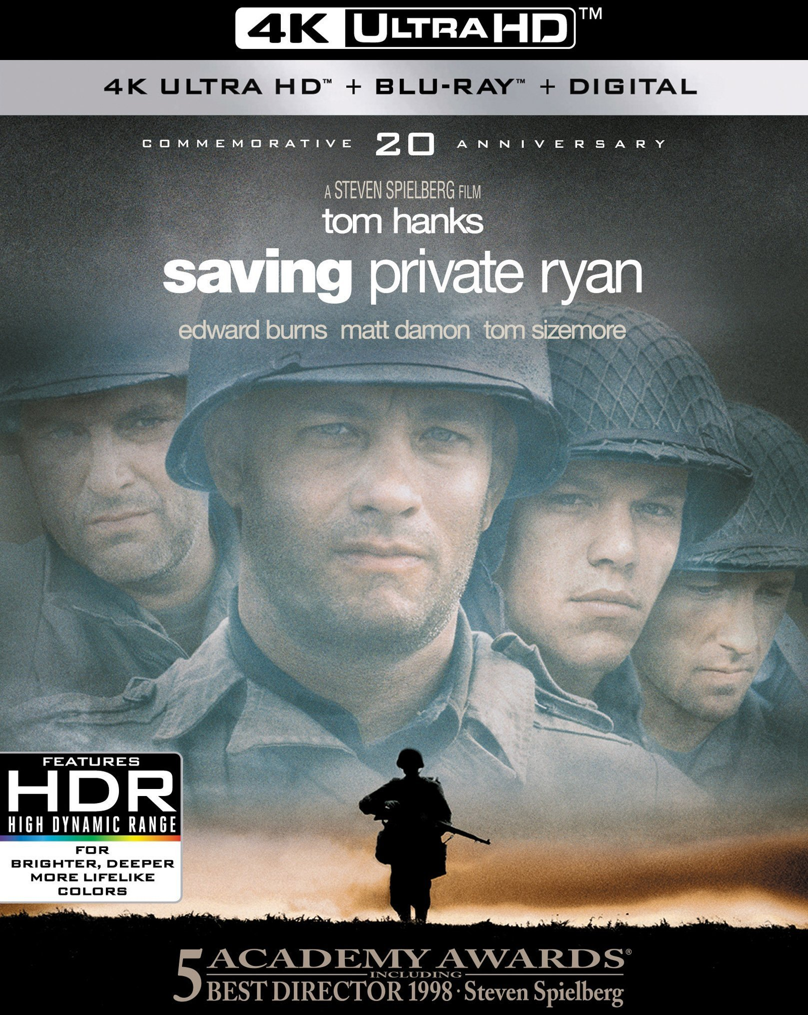 Saving Private Ryan 4K (20th Anniversary)(1998) Ultra HD Blu-ray