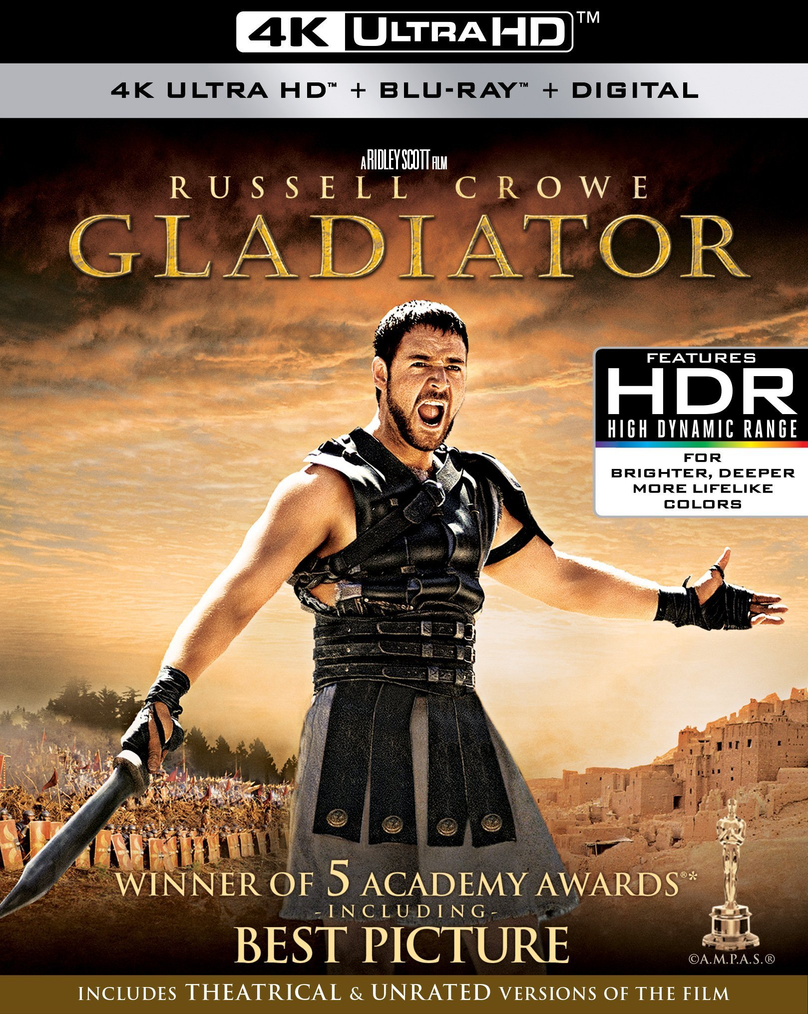 Gladiator 4K (2000) Ultra HD Blu-ray