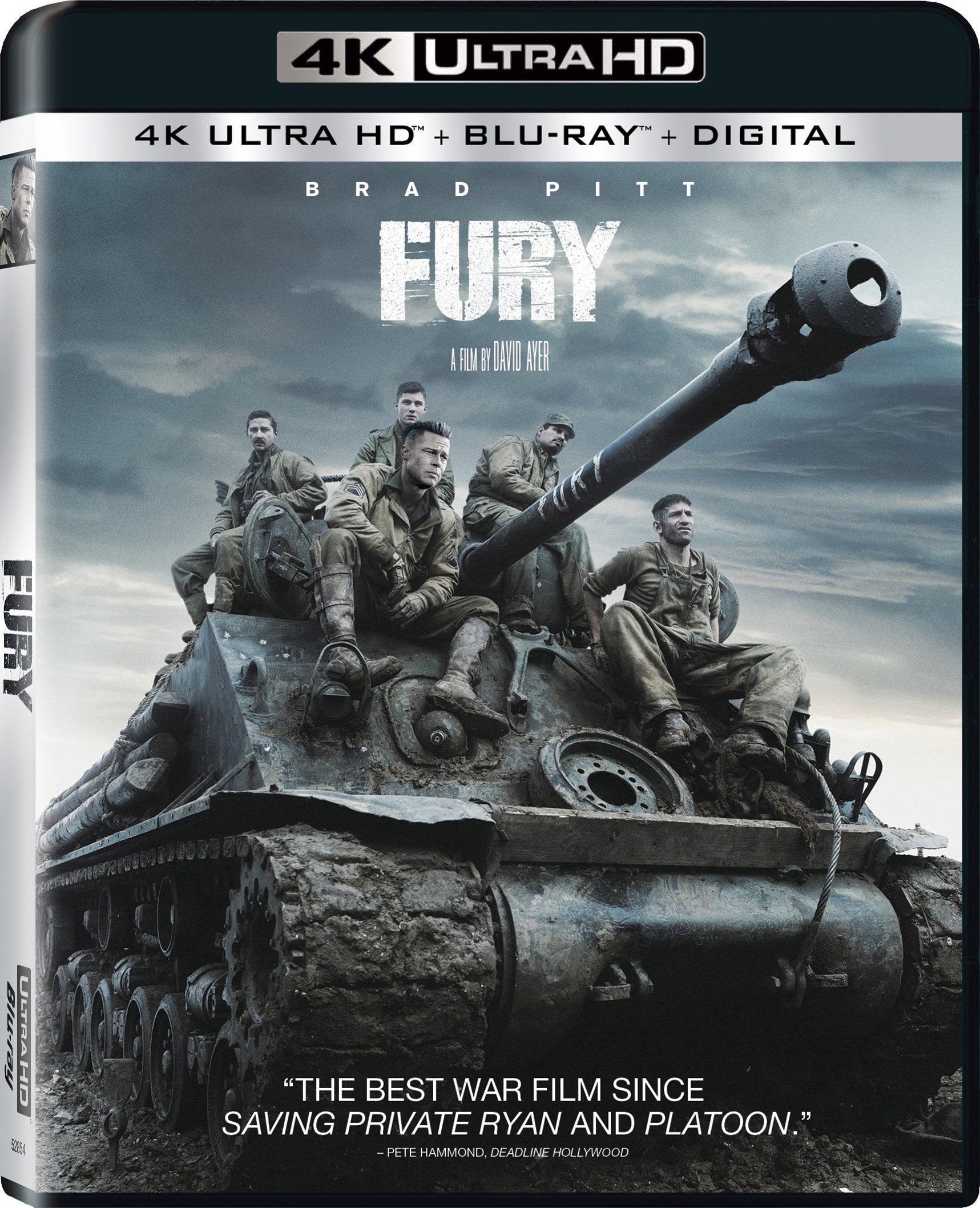 Fury (2014) 4K Ultra HD Blu-ray