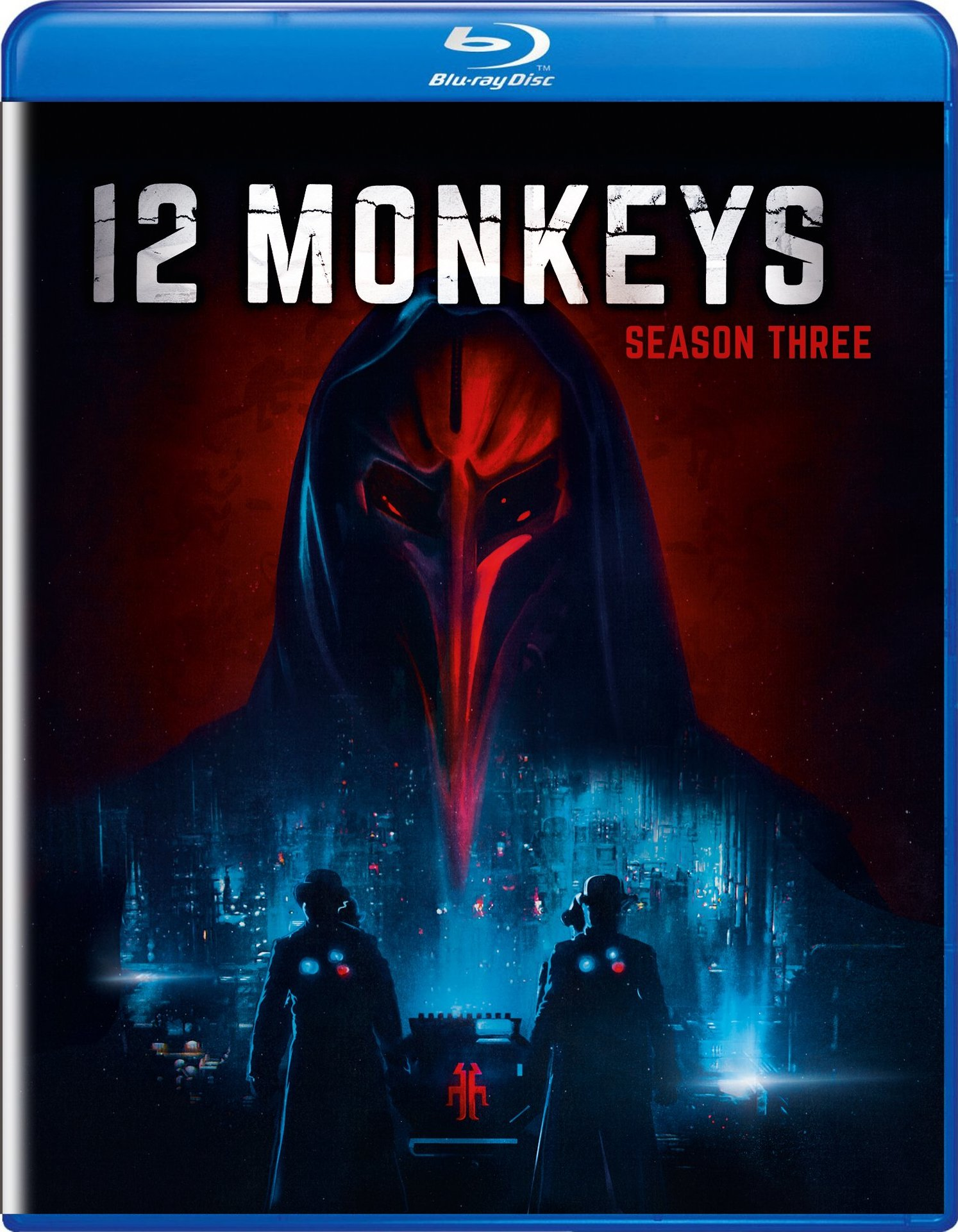 12 Monkeys: Season Three (Blu-ray)(Region A)