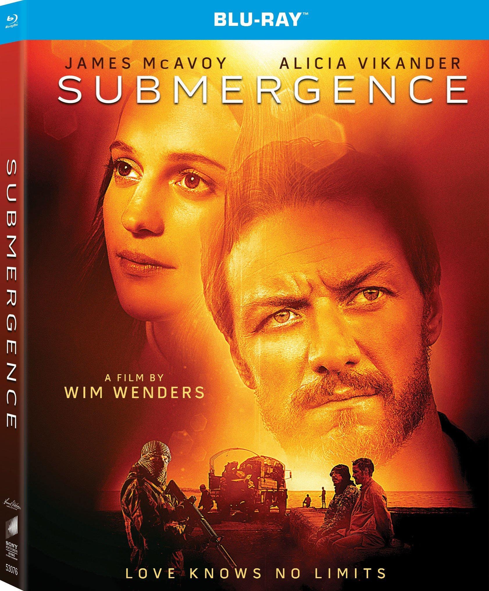 Submergence (2017) Blu-ray