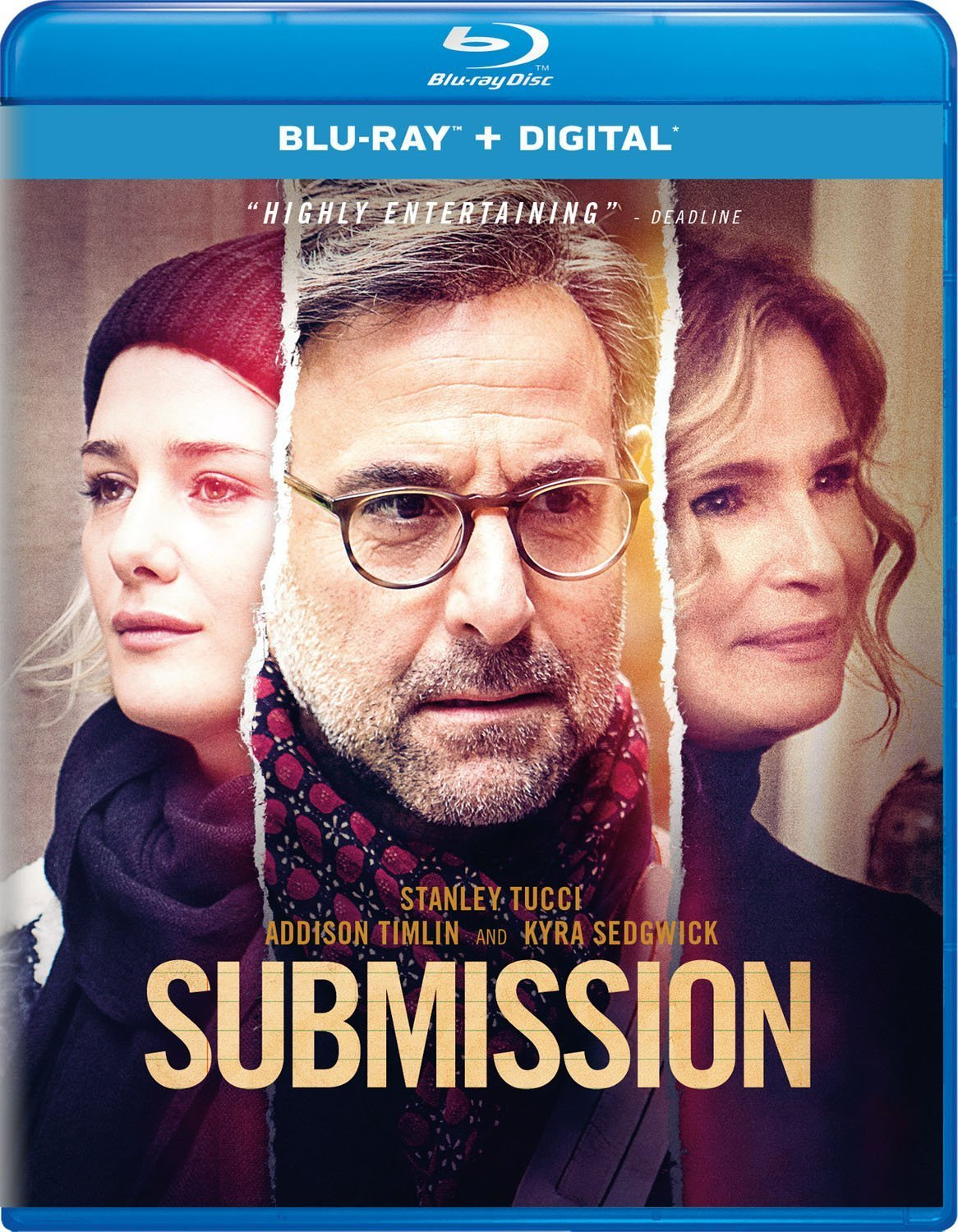 Submission (2018) Blu-ray