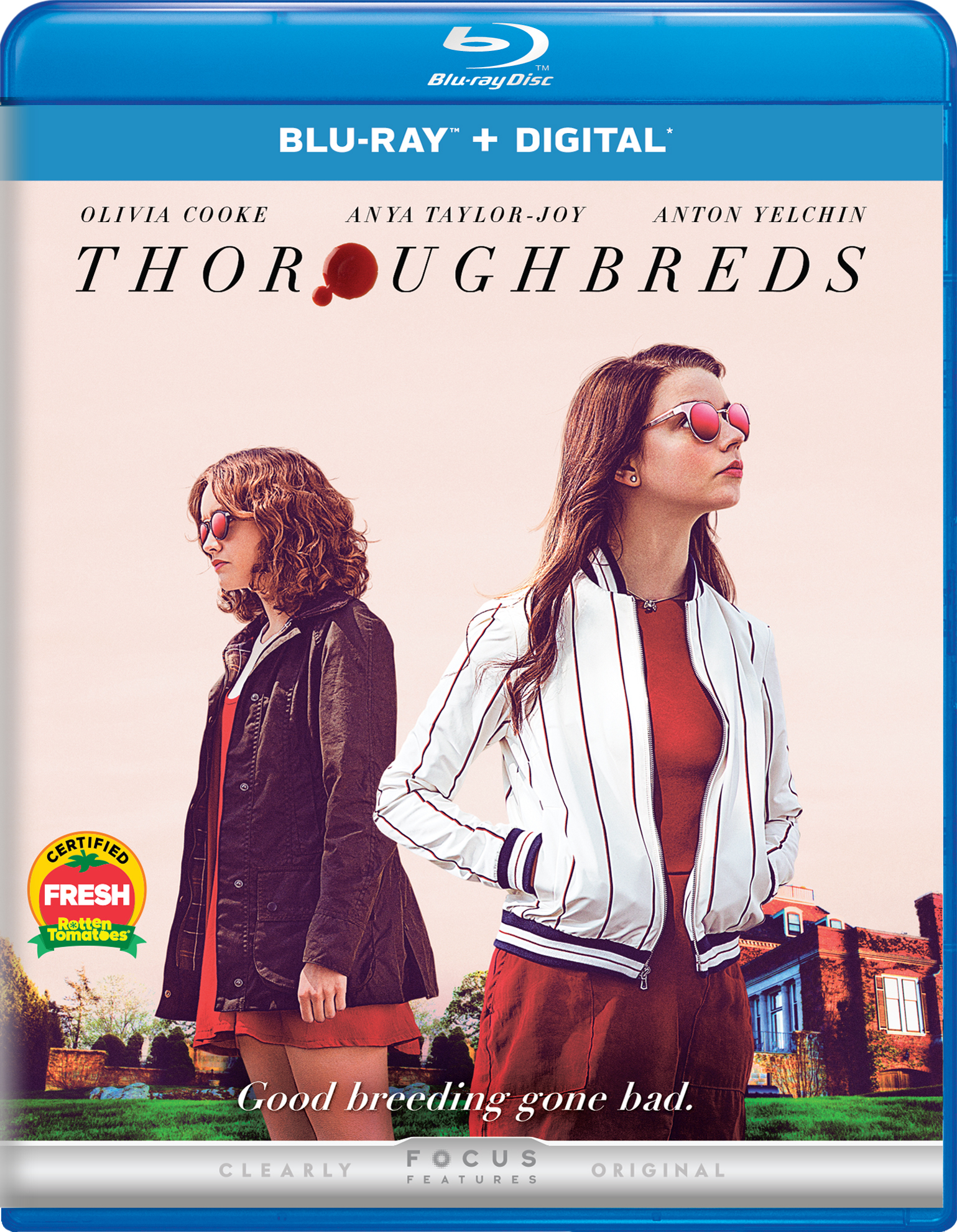 Thoroughbreds (2017) Blu-ray
