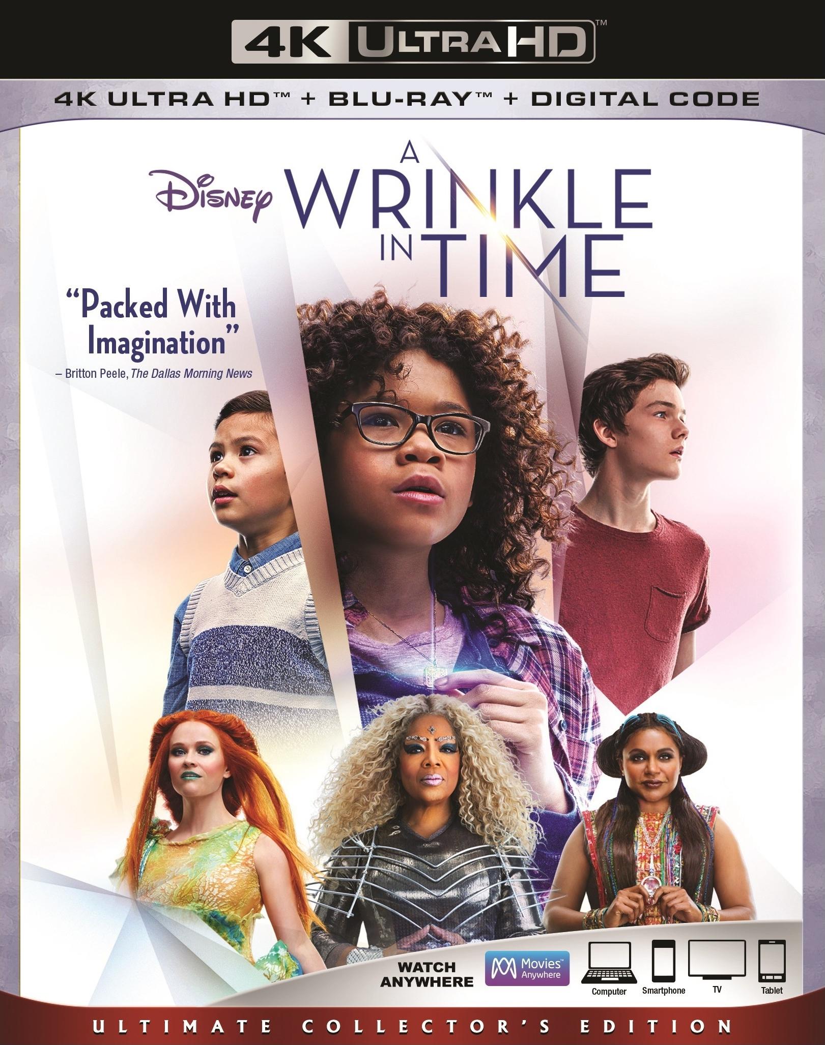 A Wrinkle in Time 4K (2018) Ultra HD Blu-ray