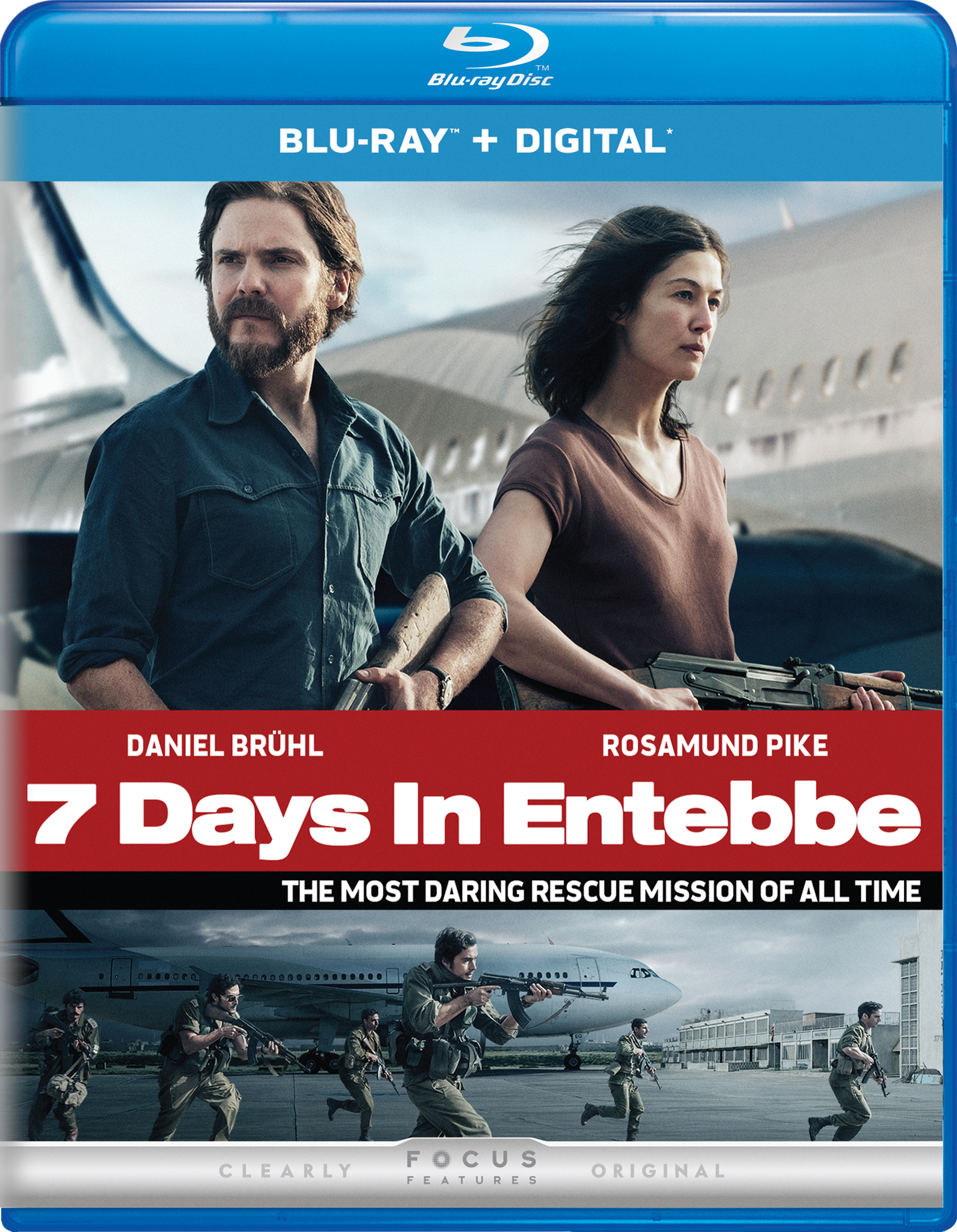 7 Days in Entebbe (2018) Blu-ray