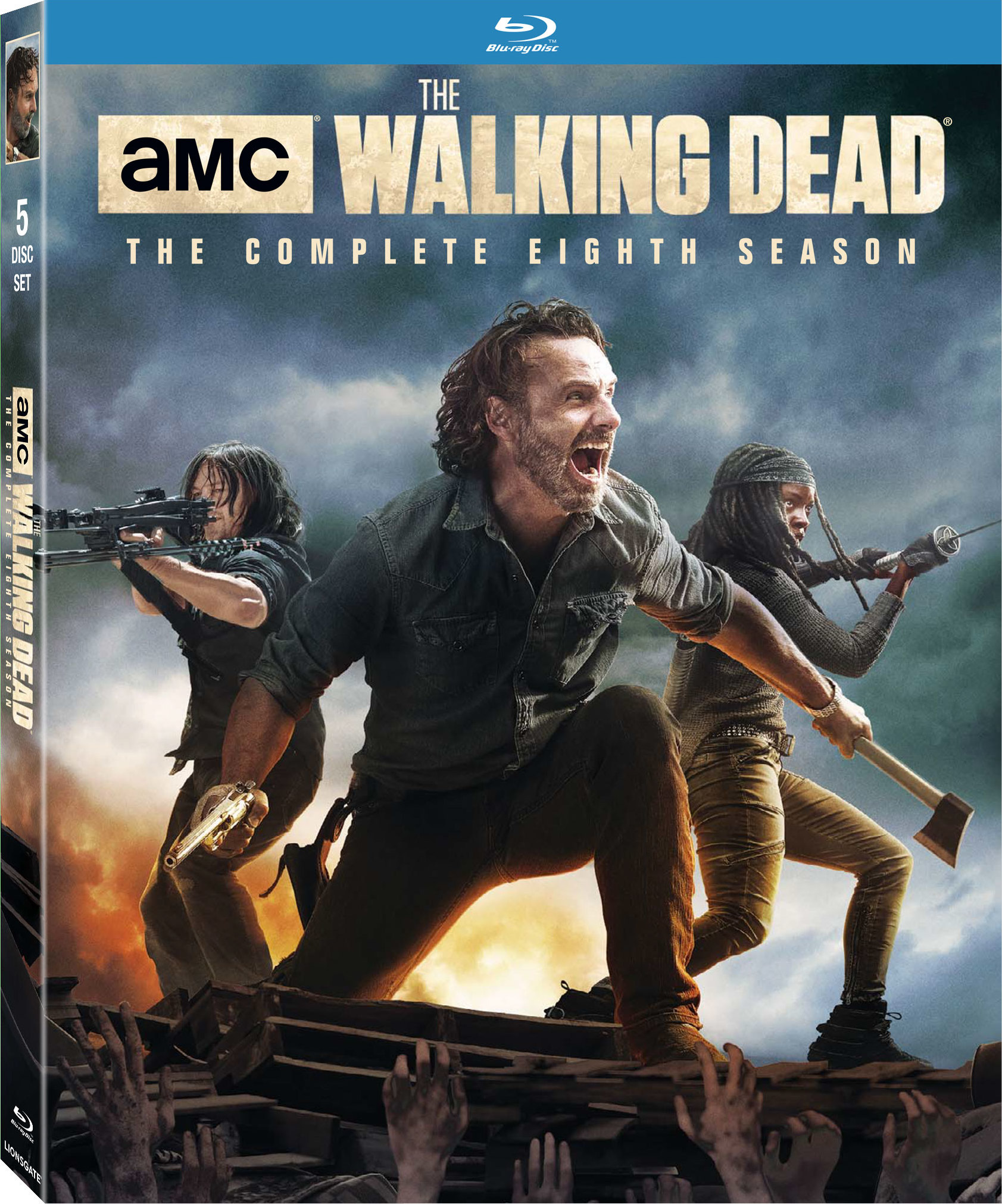 The Walking Dead: The Complete Eighth Season Blu-ray