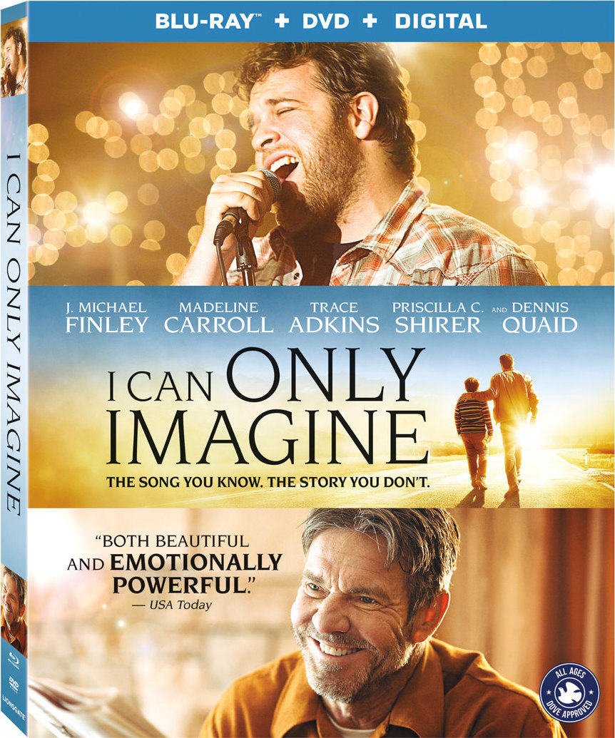 I Can Only Imagine (2018) Blu-ray