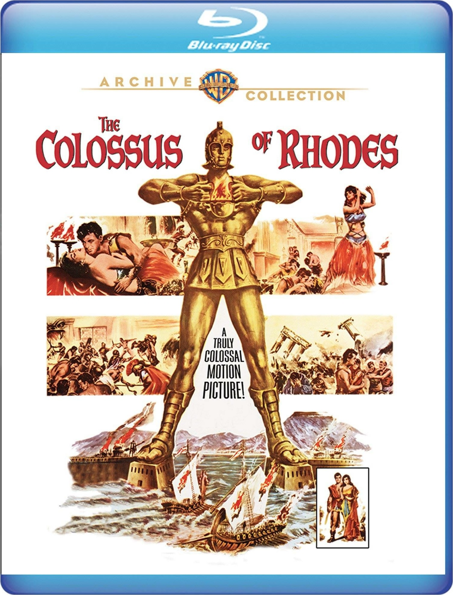 The Colossus of Rhodes (Warner Archive Collection)(1961) Blu-ray