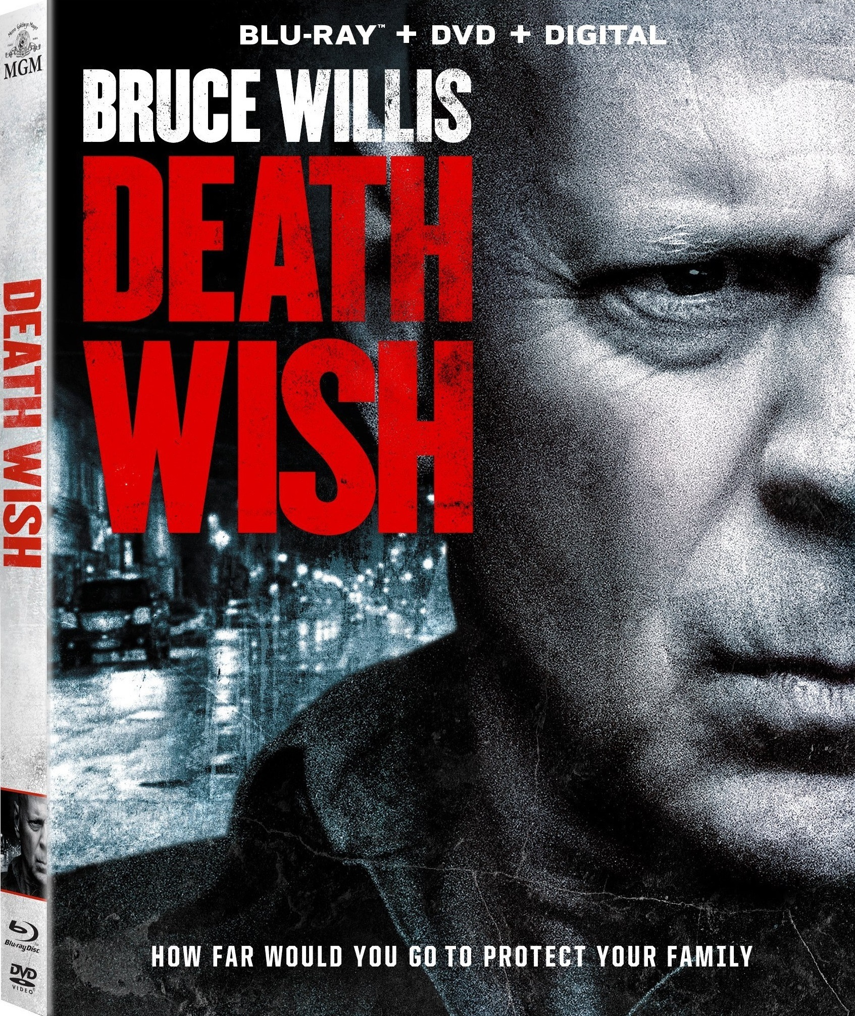 Death Wish (2018) Blu-ray