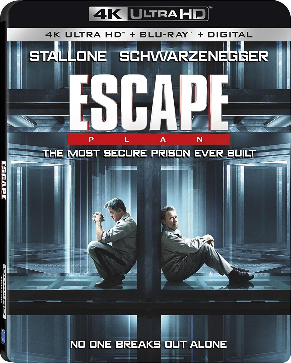 Escape Plan (2013) 4K Ultra HD Blu-ray