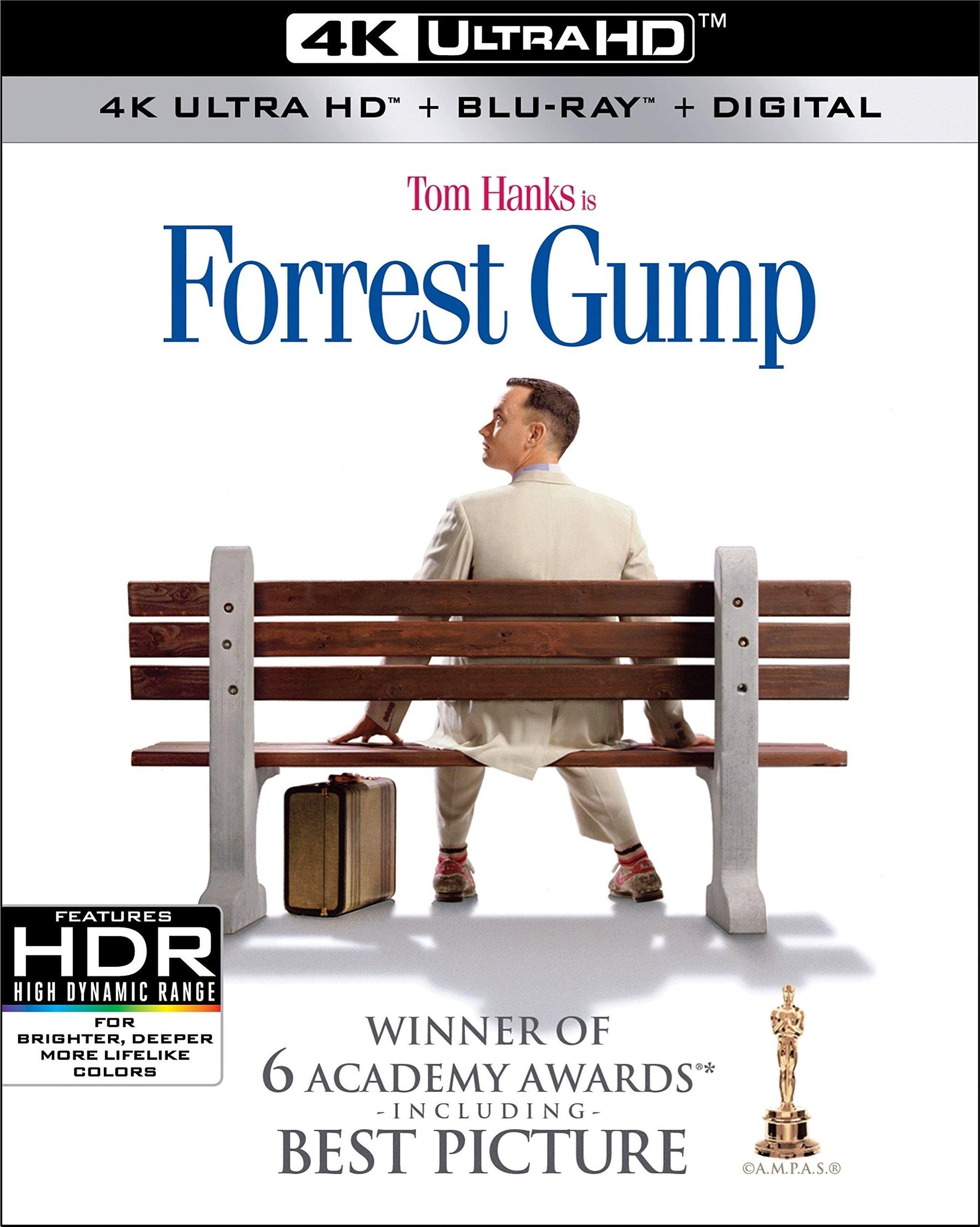 Forrest Gump 4K (1994) Ultra HD Blu-ray
