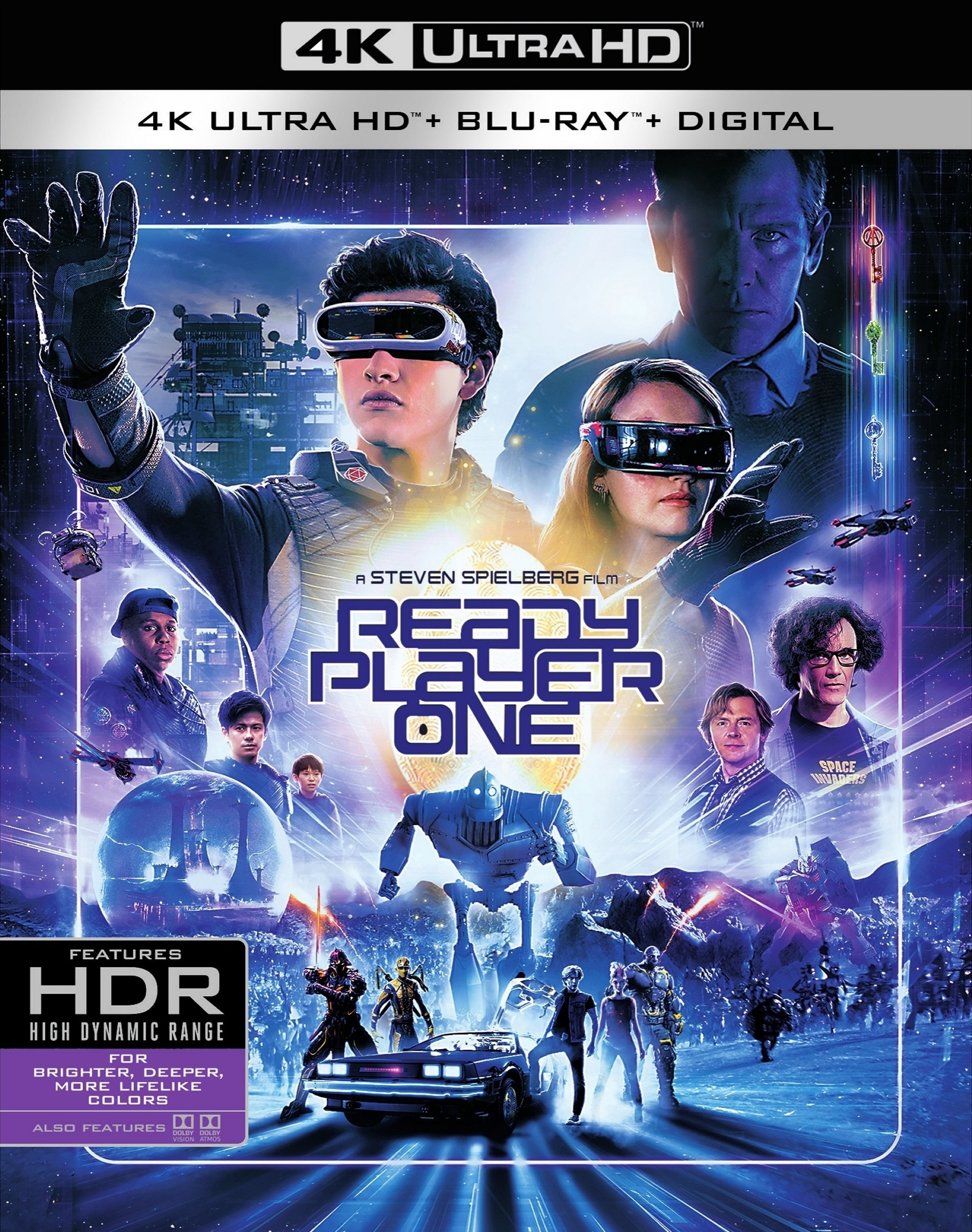 Ready Player One 4K (2018) Ultra HD Blu-ray