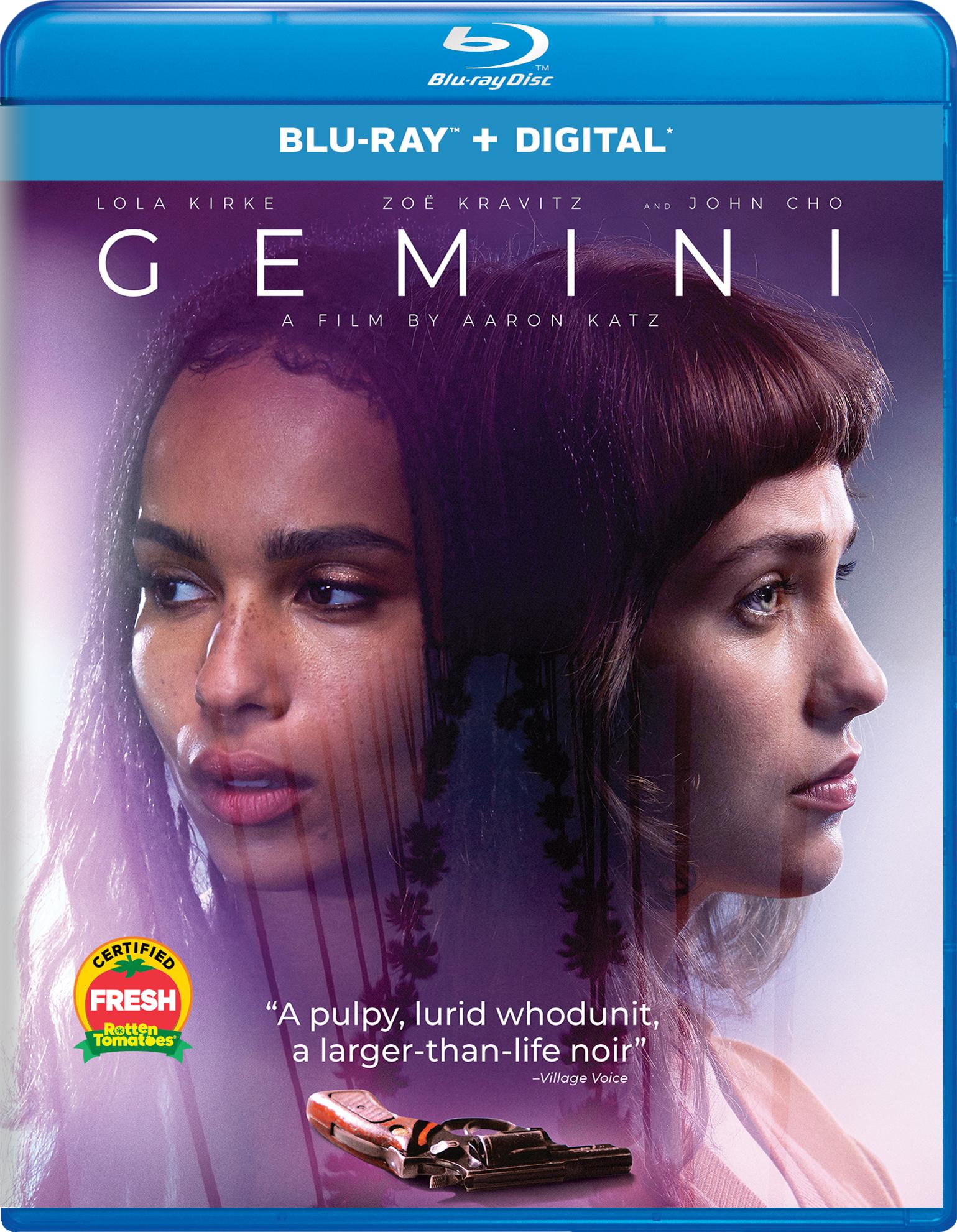 Gemini (2017) Blu-ray