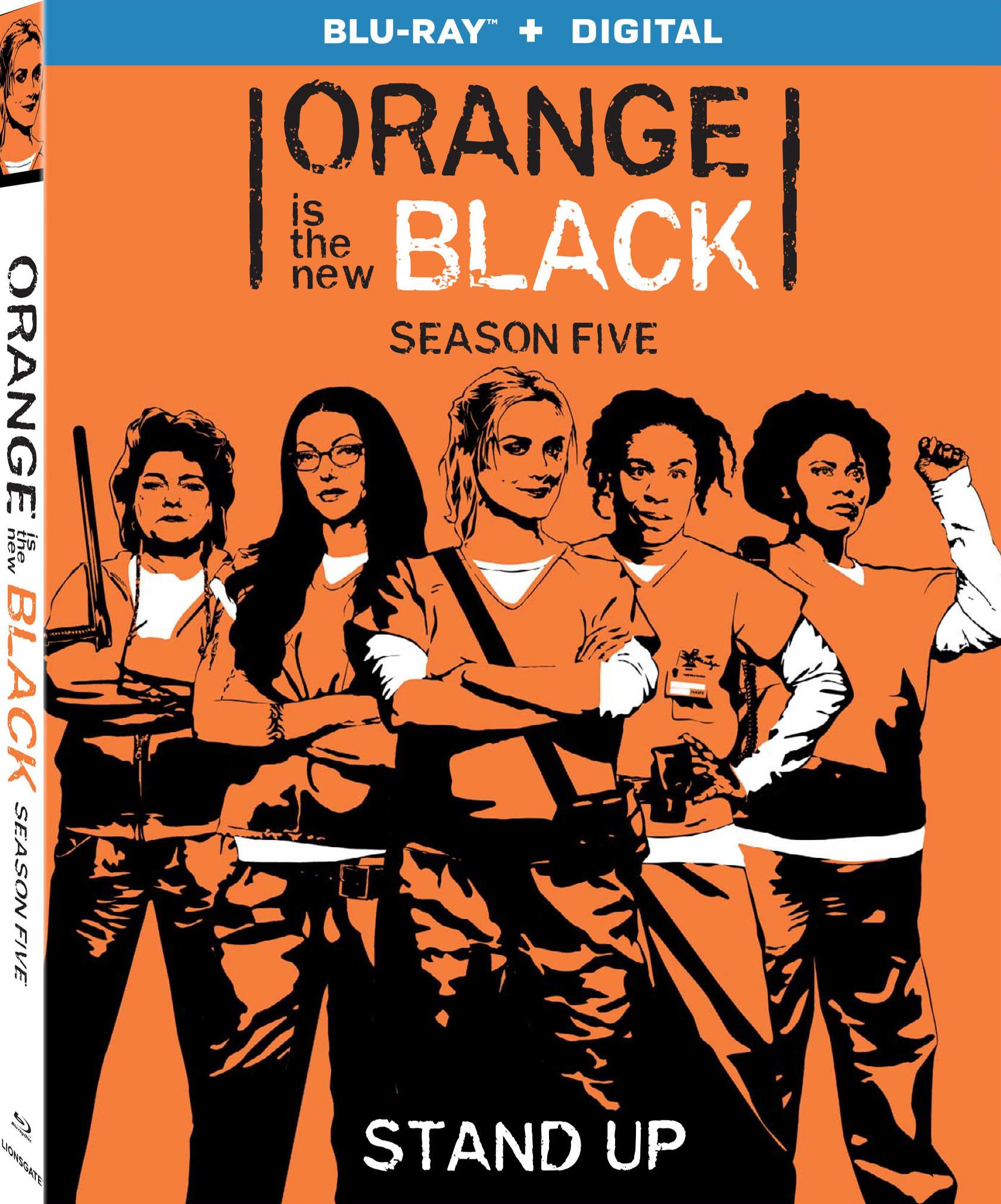 Orange Is the New Black: Season Five (TV) (2017) Blu-ray