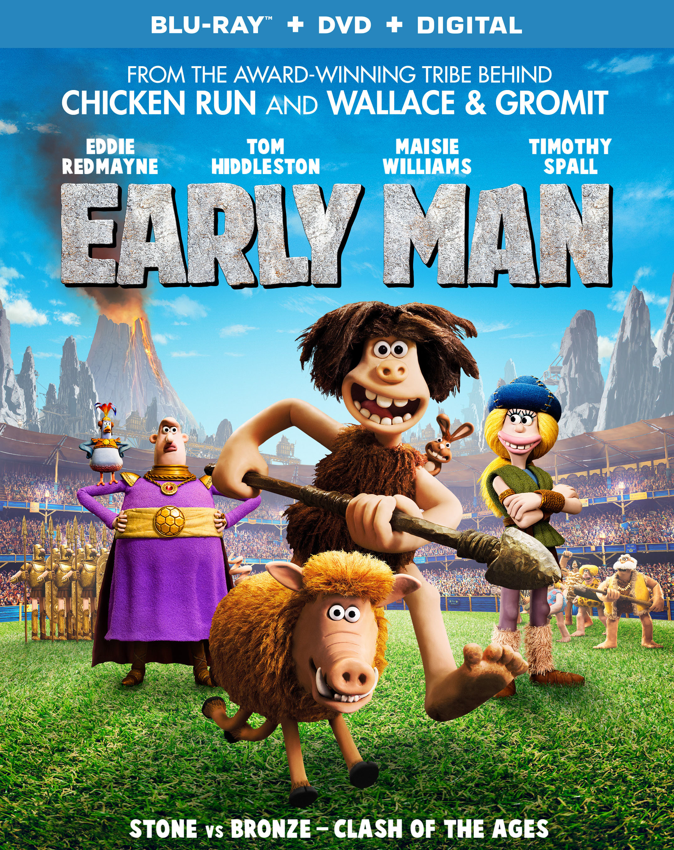 Early Man (2018) Blu-ray