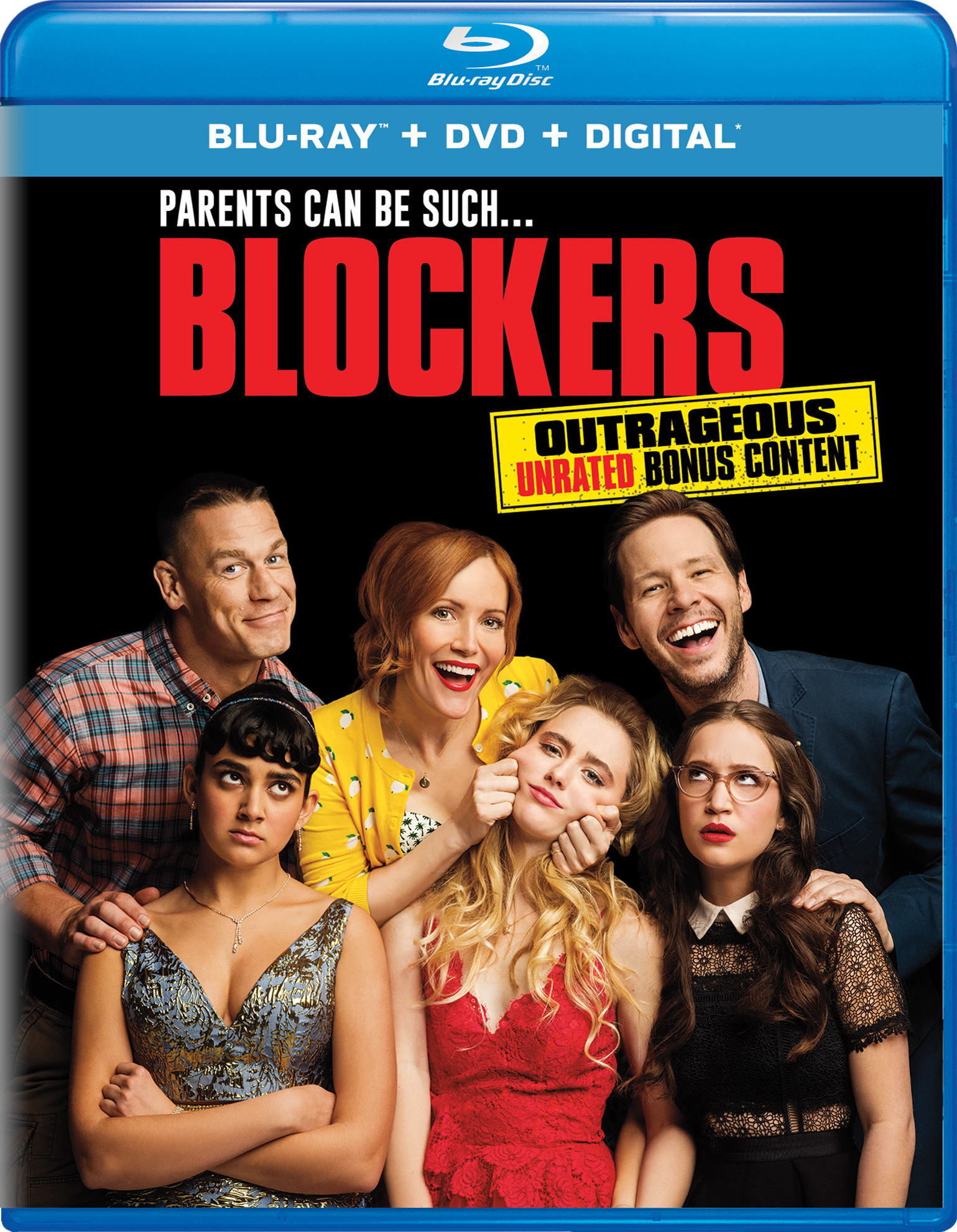 Blockers (2018) Blu-ray